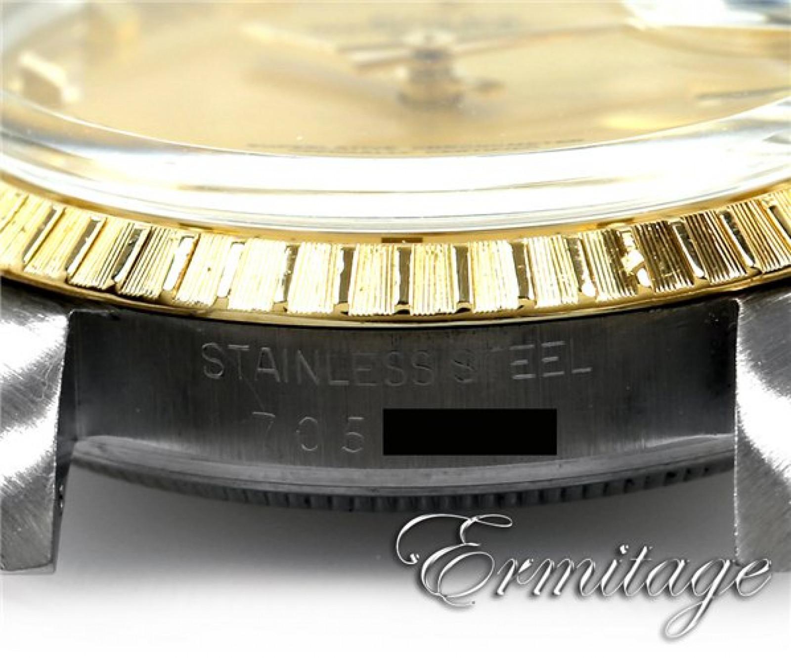 Rolex Date 15053 Steel Champagne 1981