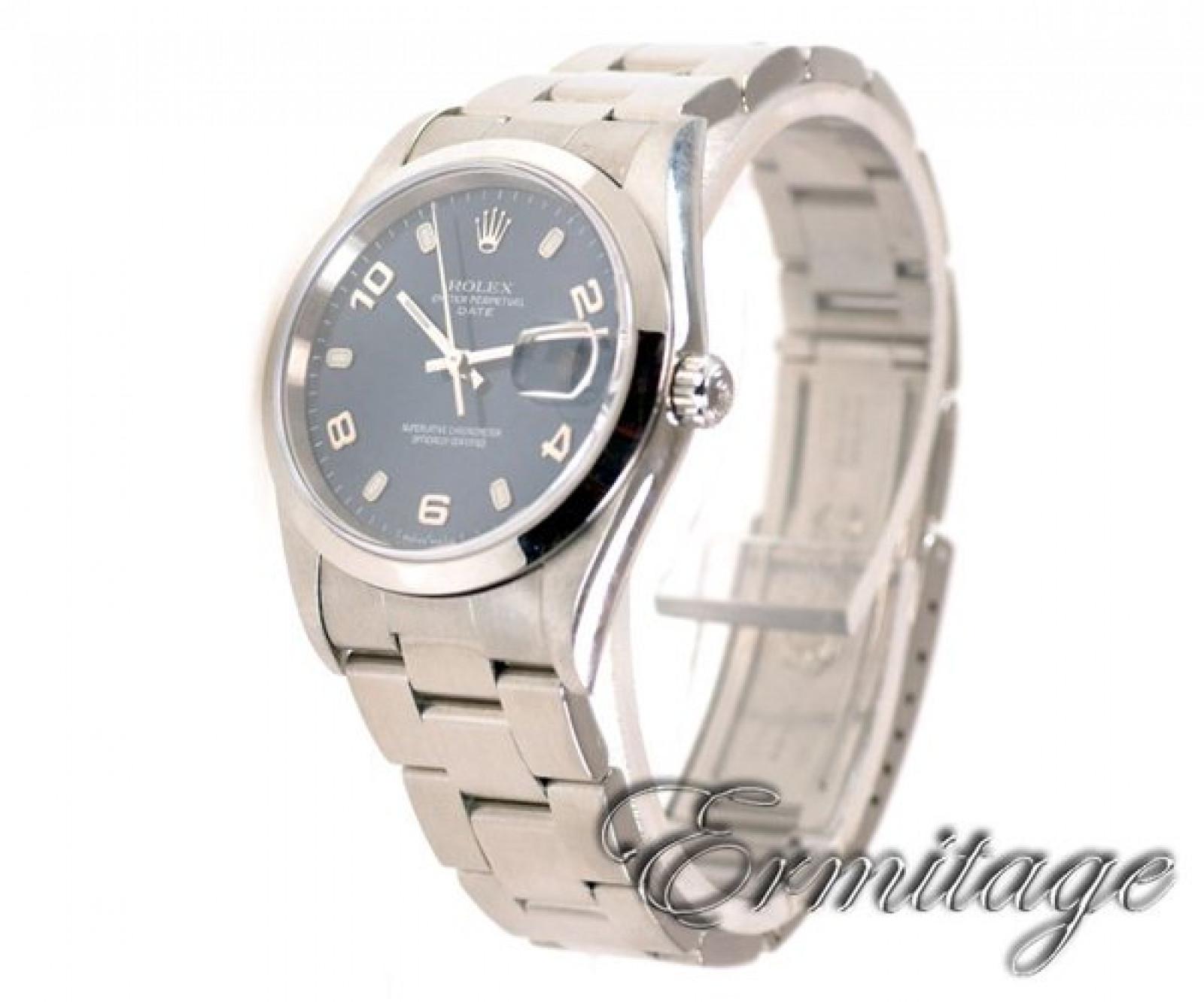 Rolex Date 15200 Steel Blue 2003