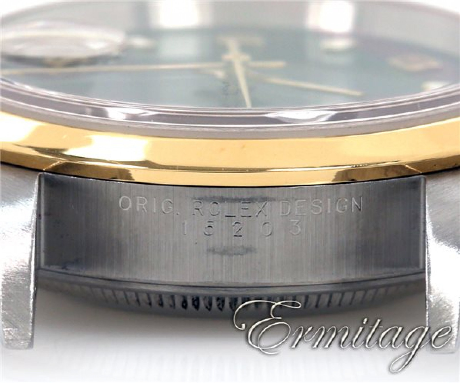 Rolex Date 15203 Gold & Steel