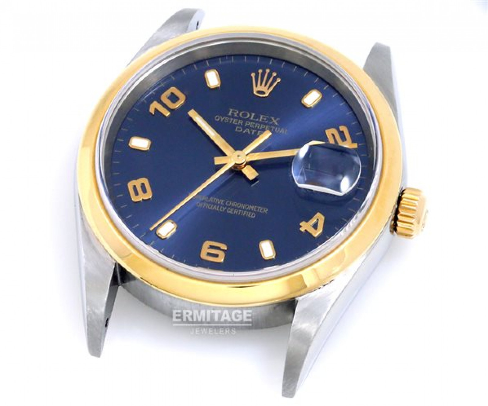 Pre-Owned Rolex Date 15203 with Blue Dial