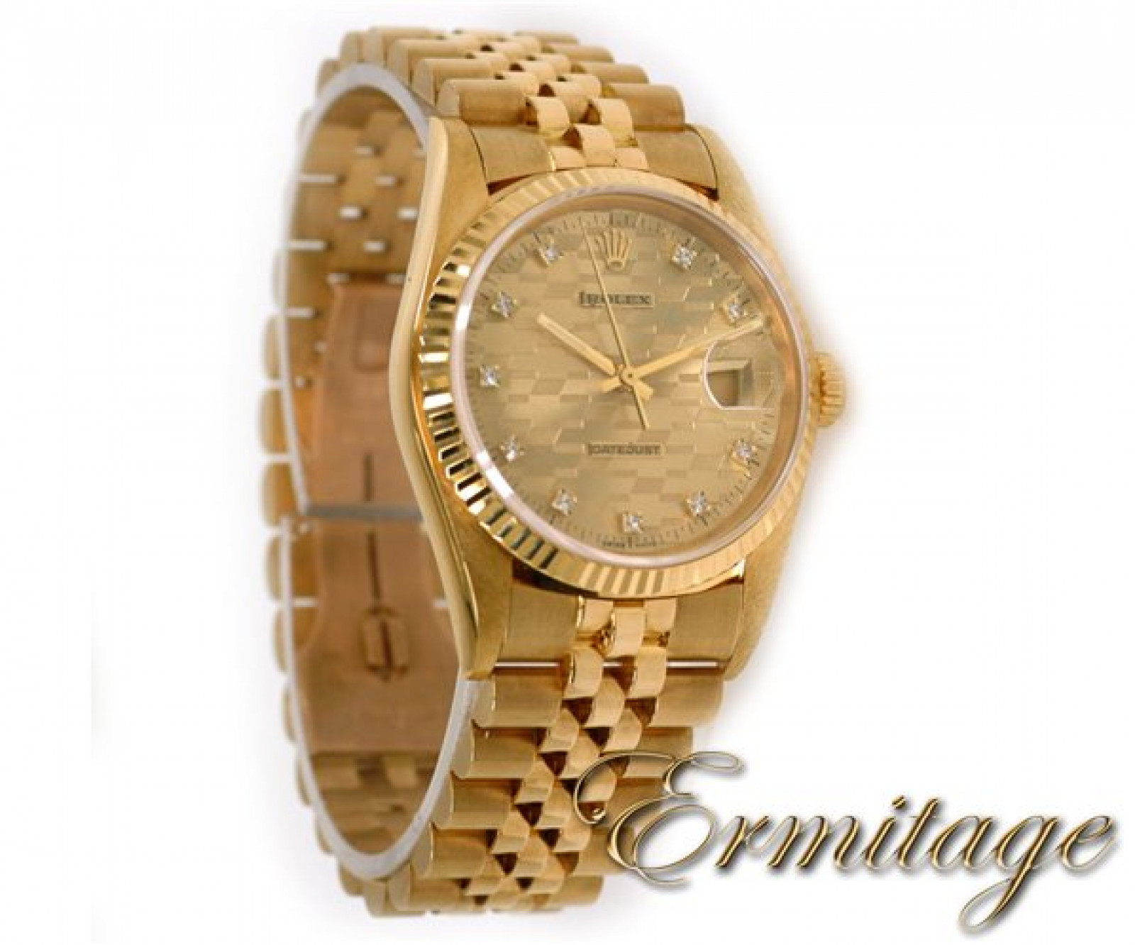 Champagne Diamond Dial Rolex Datejust 16018