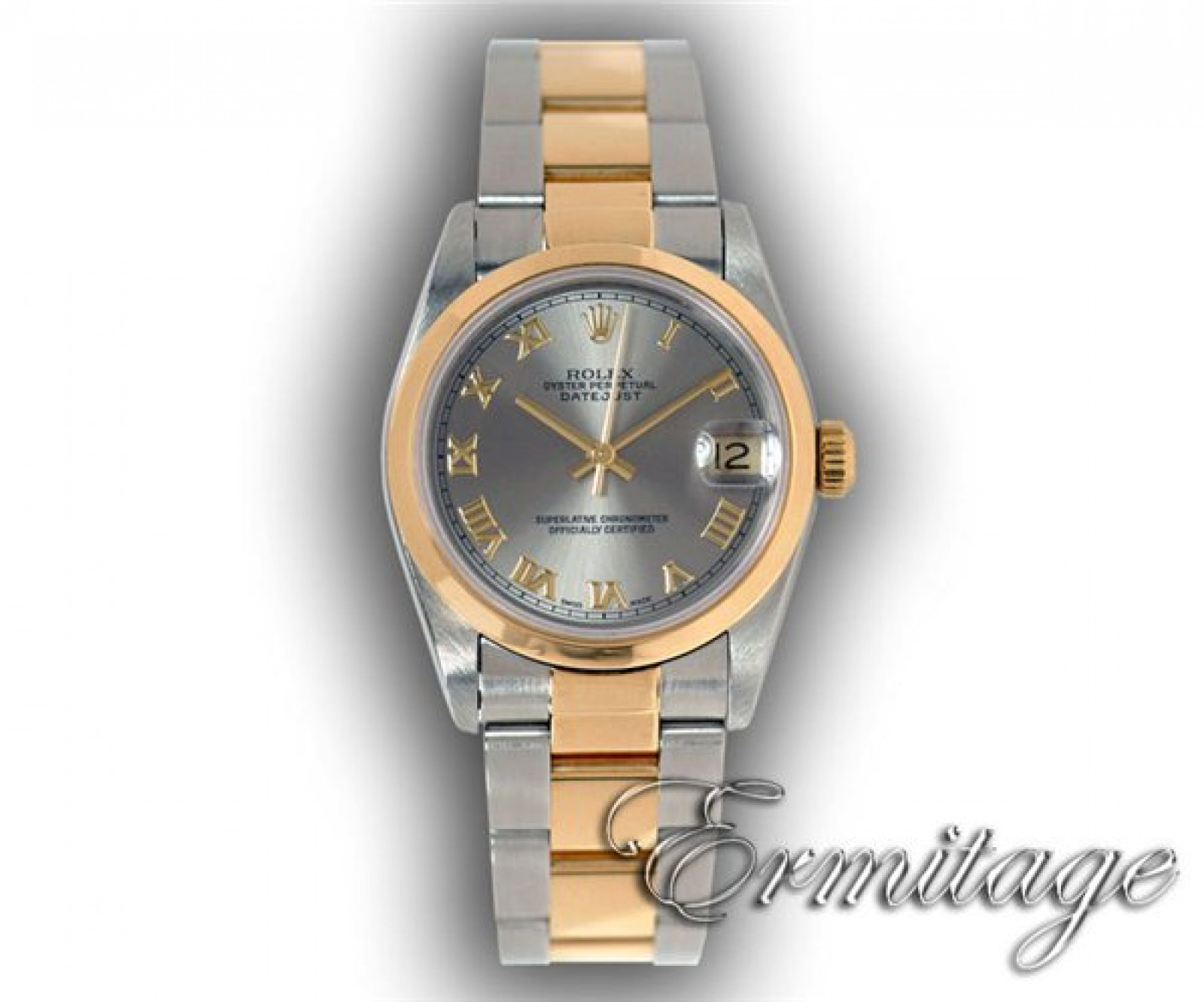 Rolex Datejust 68243 Gold & Steel Rhodium