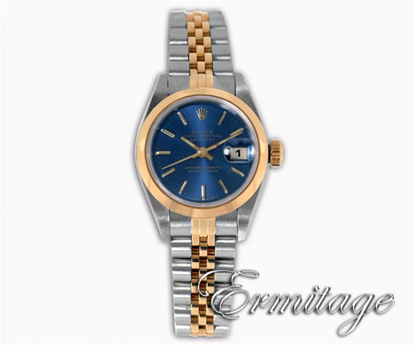 Pre-Owned Rolex Oyster Perpetual Datejust 69163 Gold & Steel