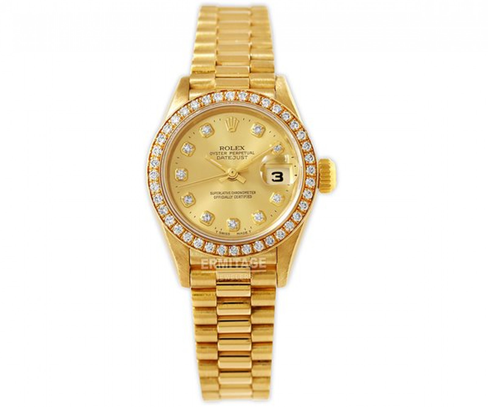 Dimaond Rolex Datejust Ref. 69138