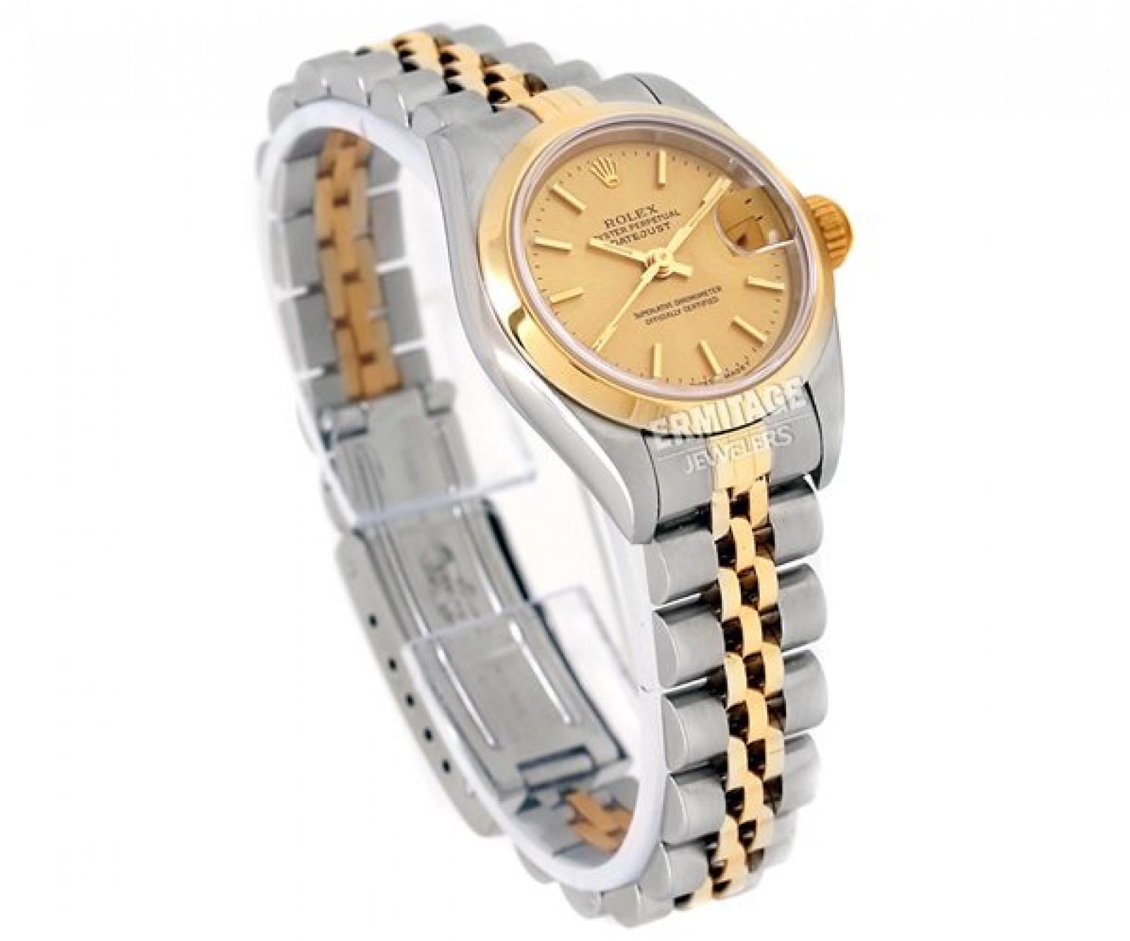 Rolex Datejust 69163 Gold & Steel