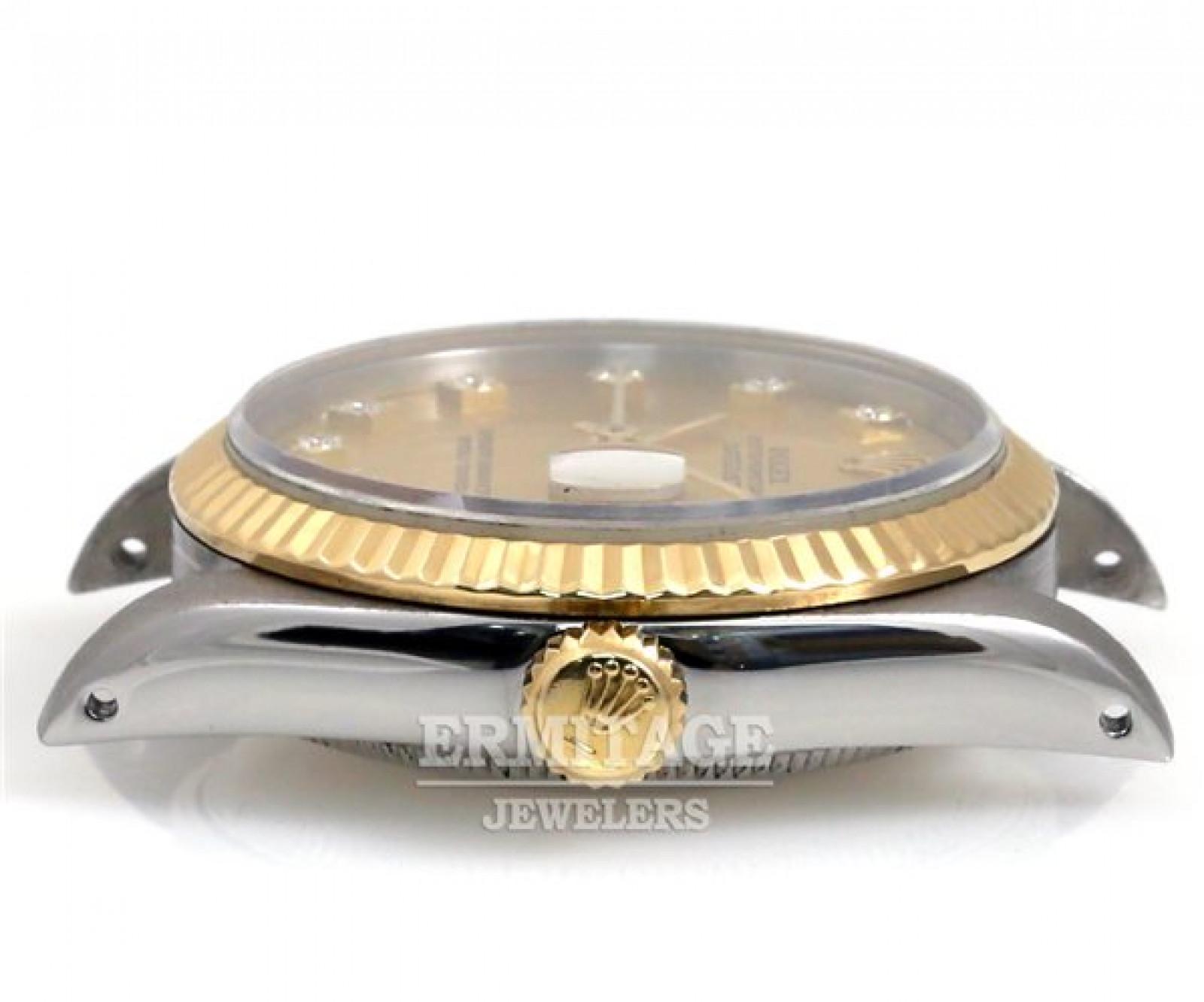 Champagne Diamond Dial Rolex Datejust 68273