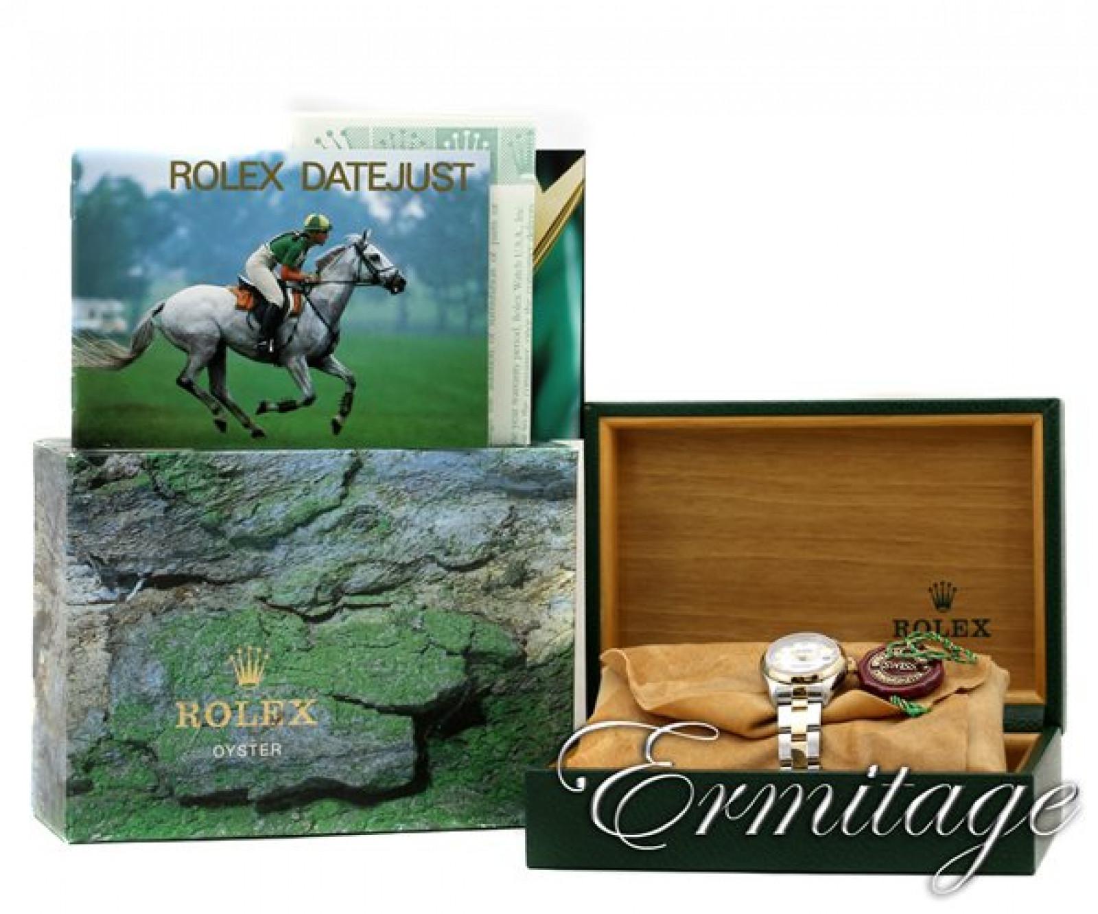 Authentic Rolex Datejust 69163