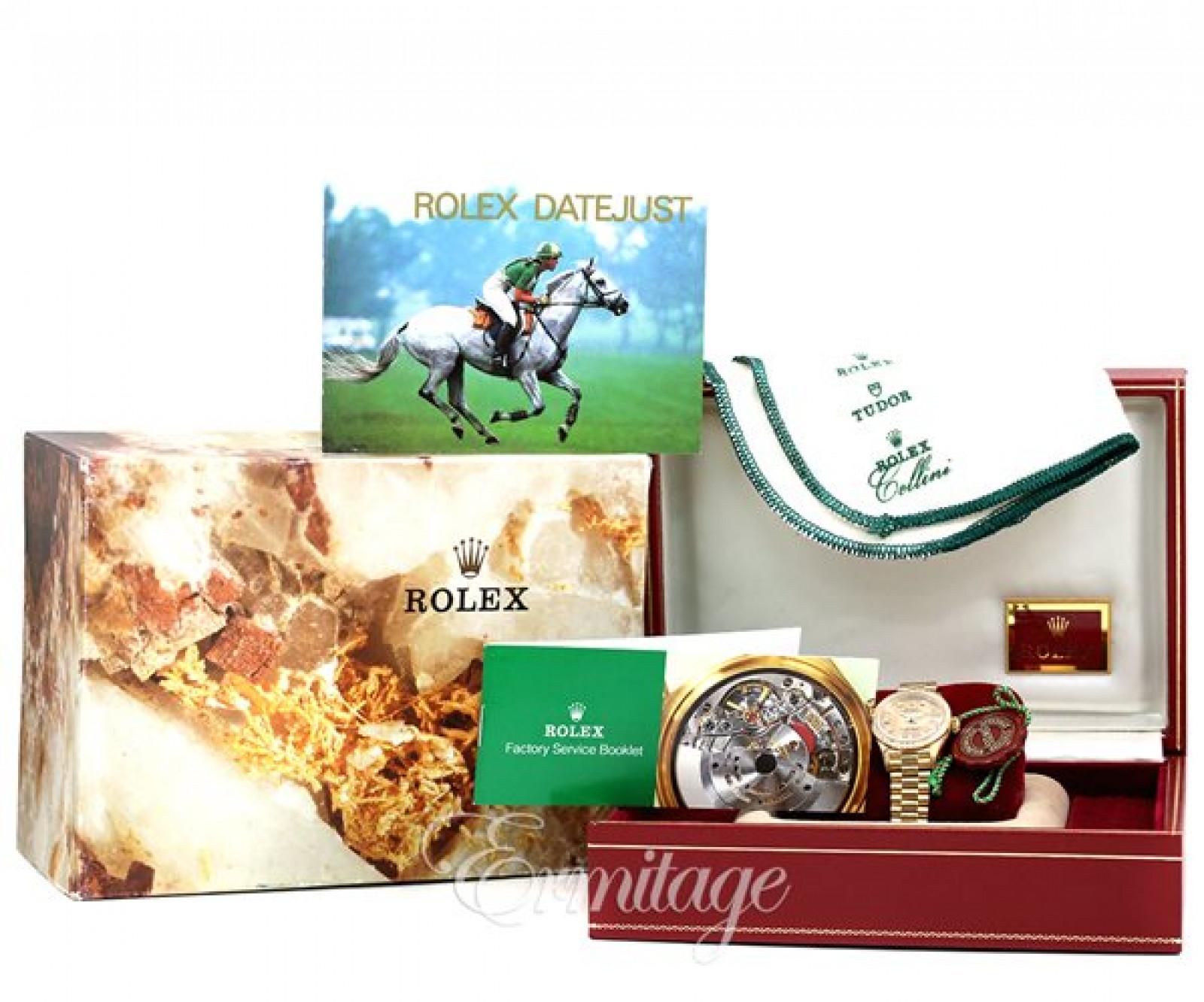 Champagne Rolex Datejust 69138