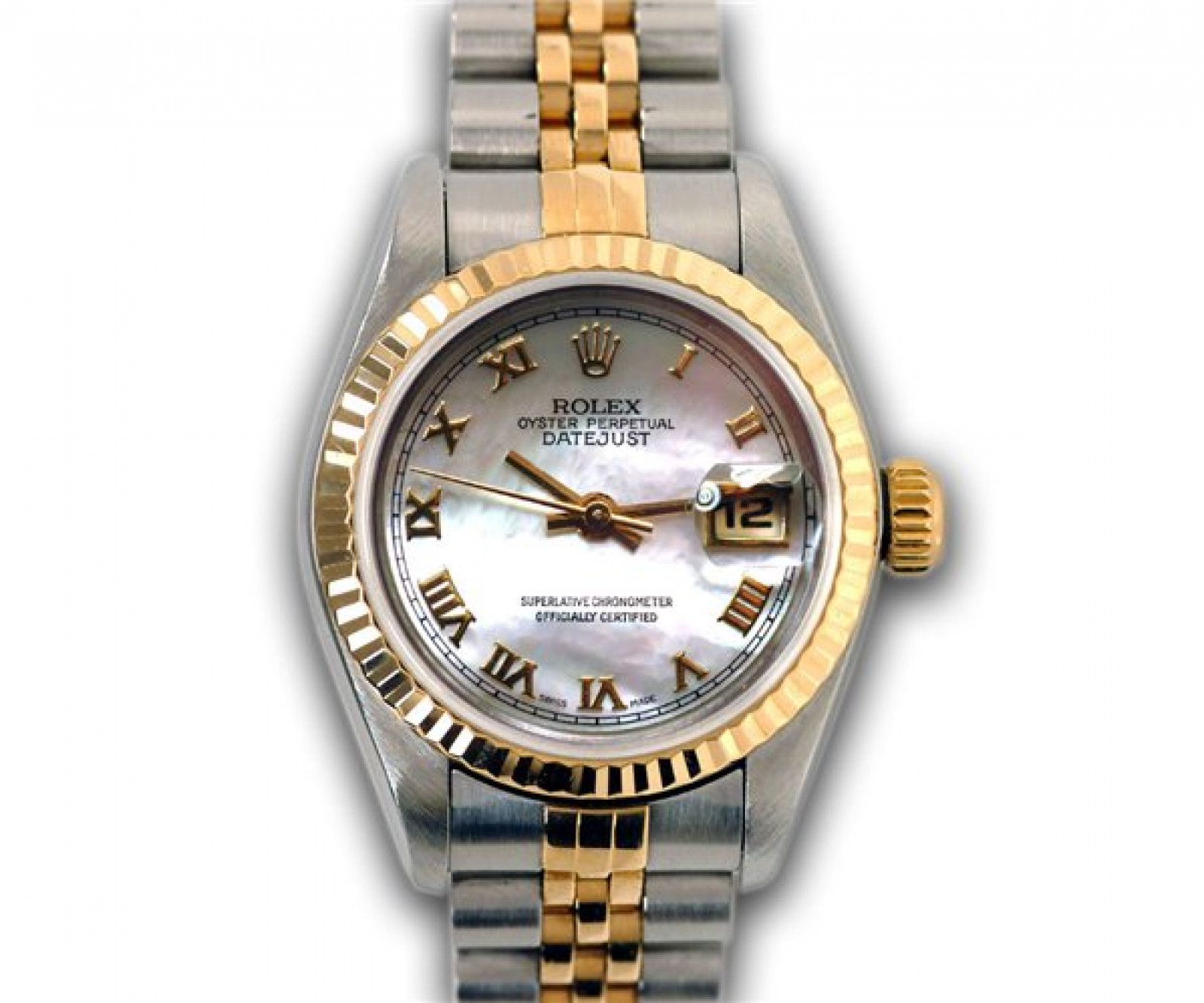 Pre-Owned Rolex Datejust 69173 Gold & Steel