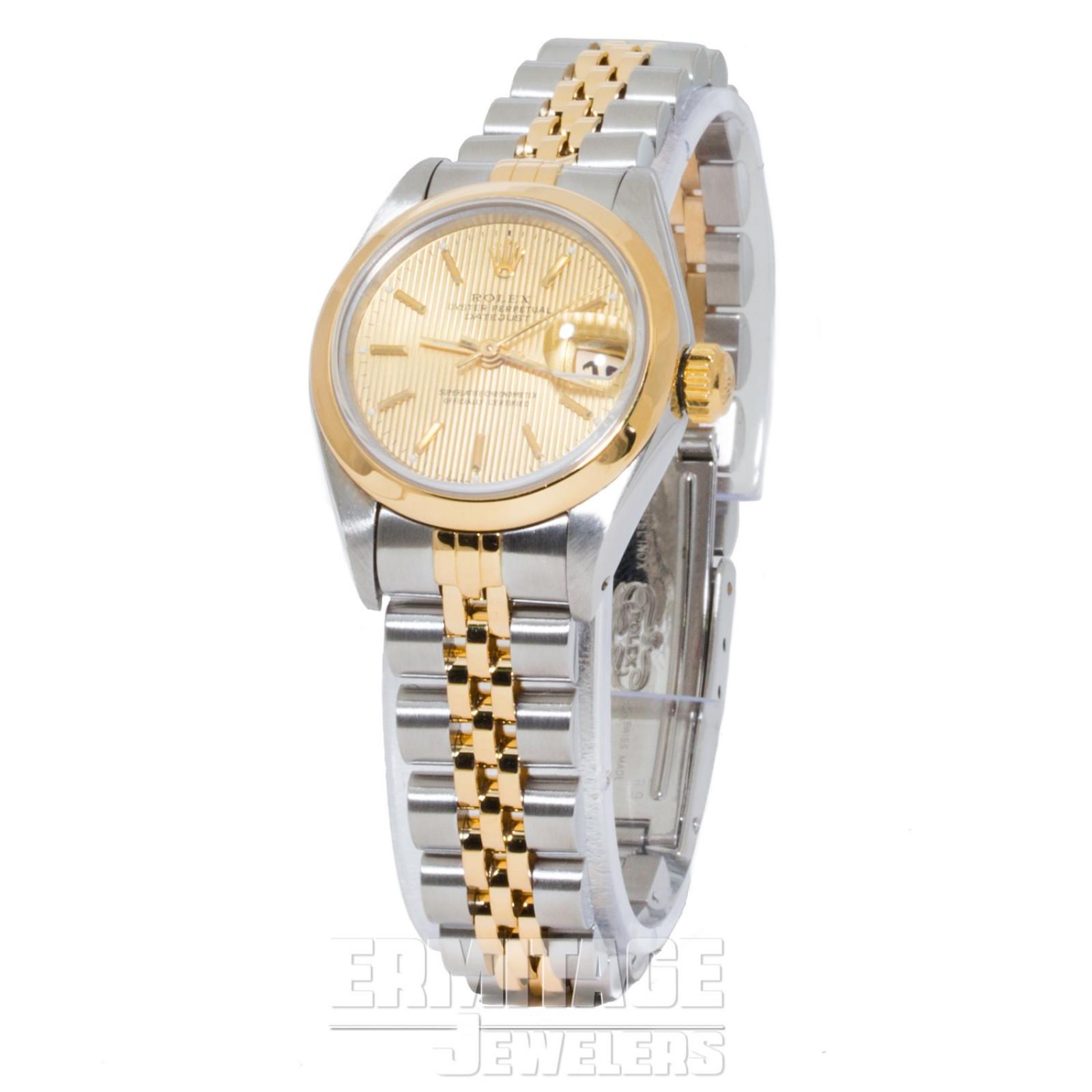Gold & Steel on Jubilee Rolex Datejust 69163 26 mm