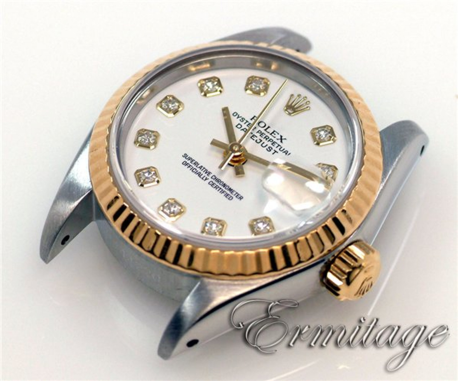 Pre-Owned Rolex Datejust 69173 with Diamonds