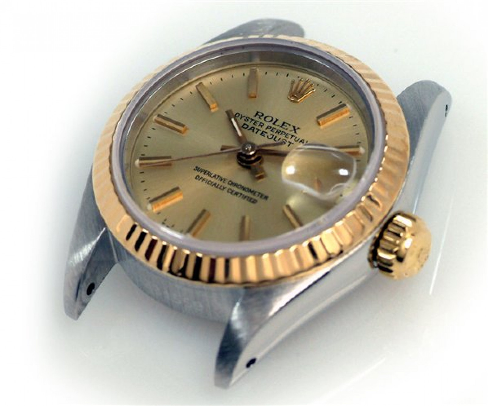Rolex Datejust 69173 Gold & Steel With Champagne Dial