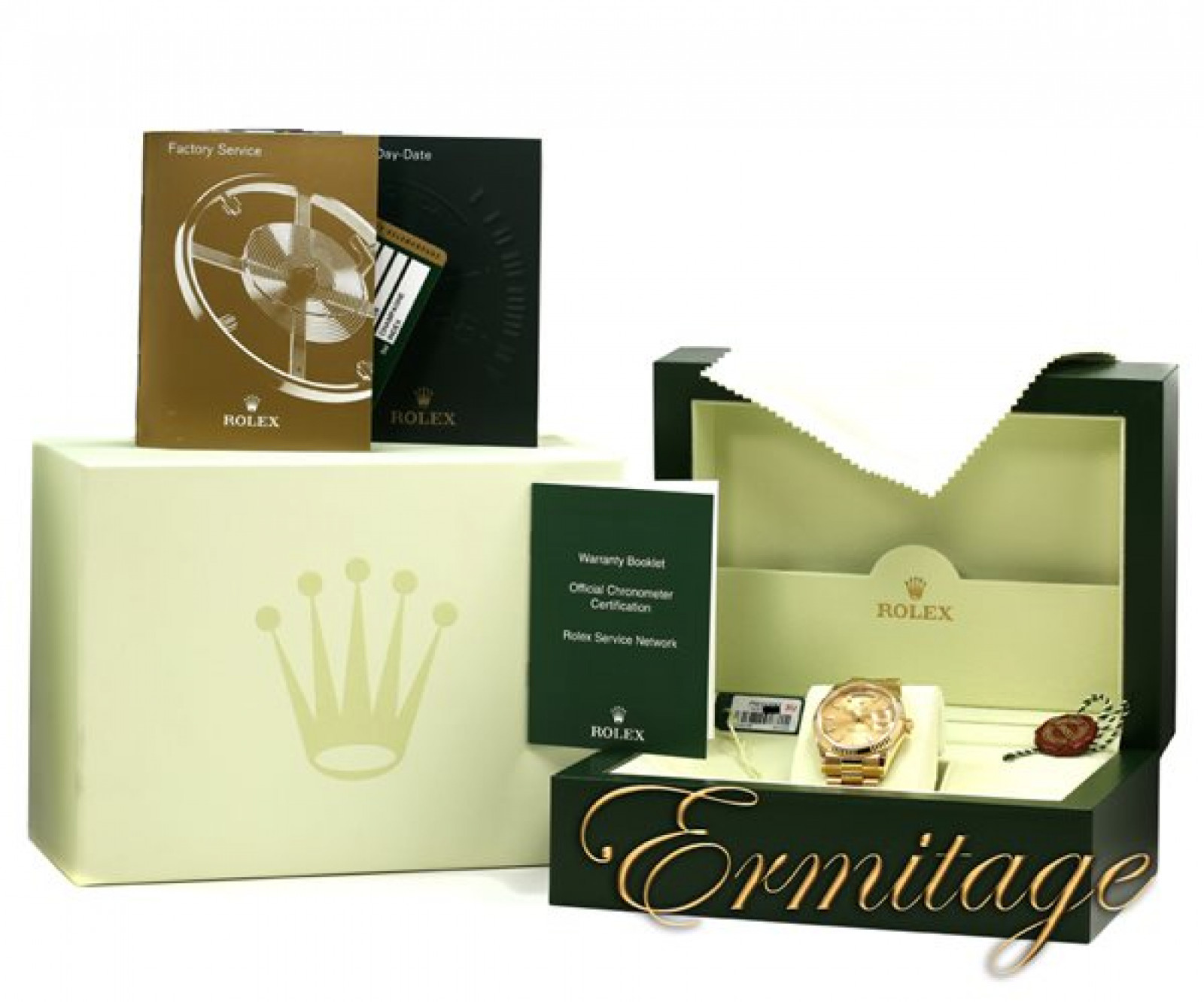 Rolex Day-Date 118238 Gold Champagne
