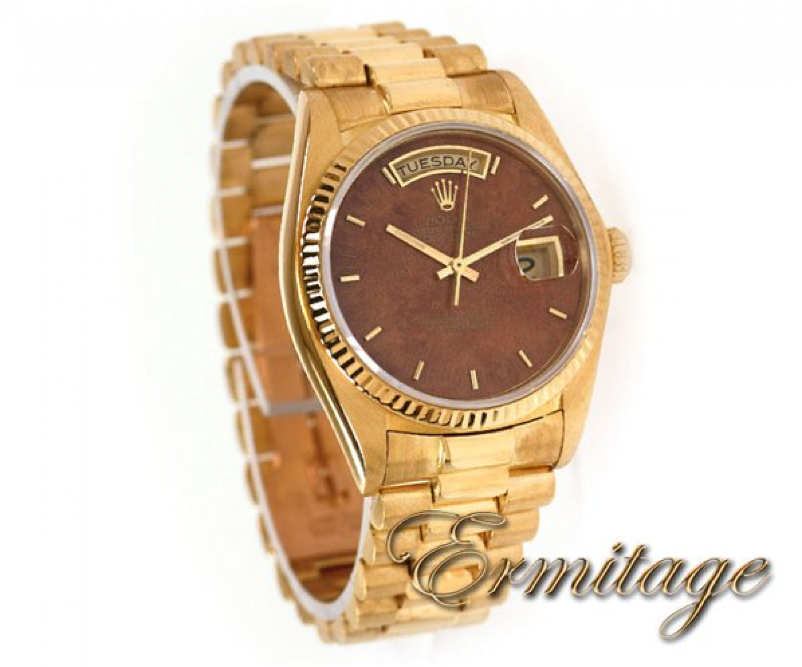 Rolex Day-Date 18038 Gold Brown