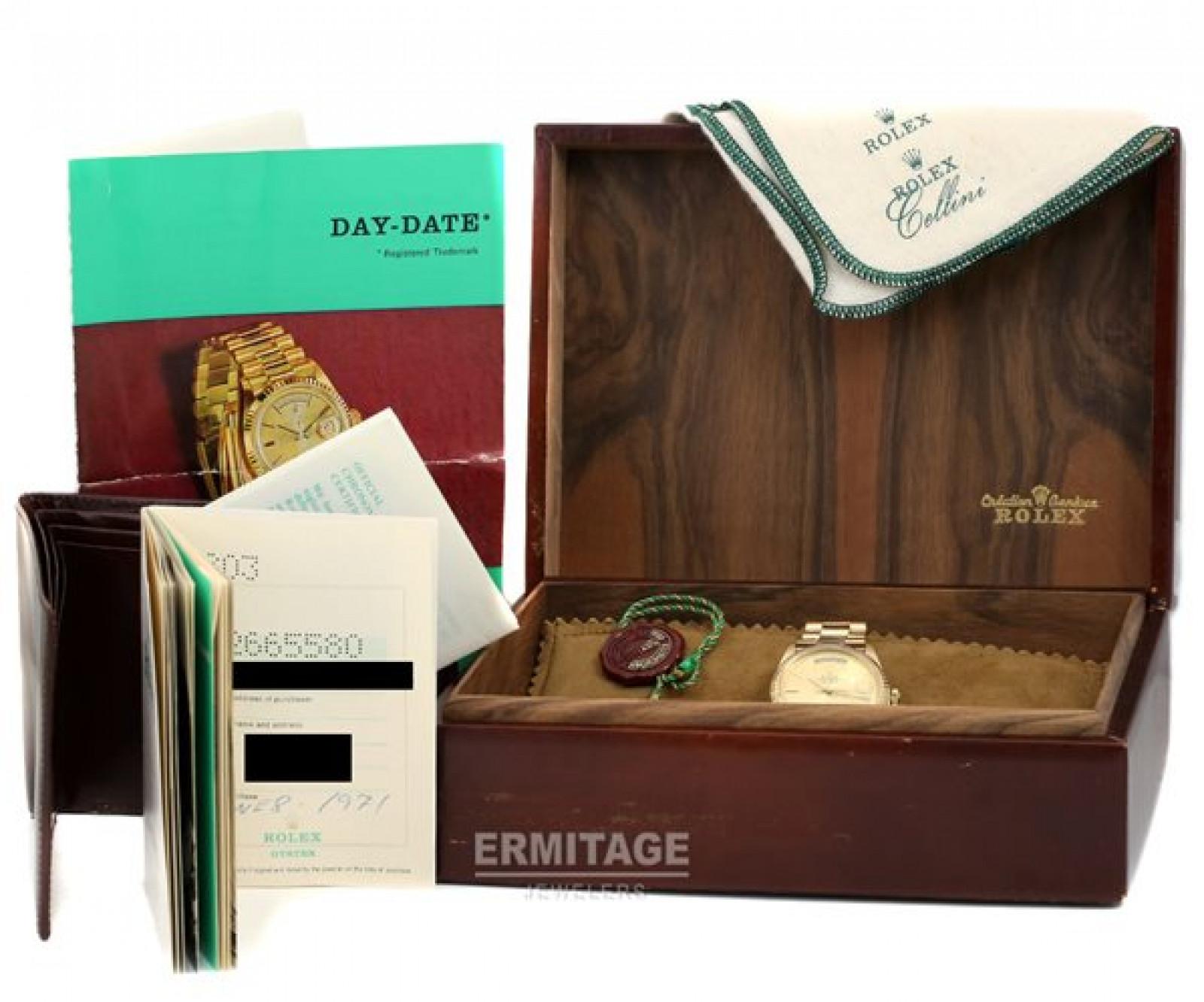 Vintage Rolex Day-Date 1803 Gold Year 1971