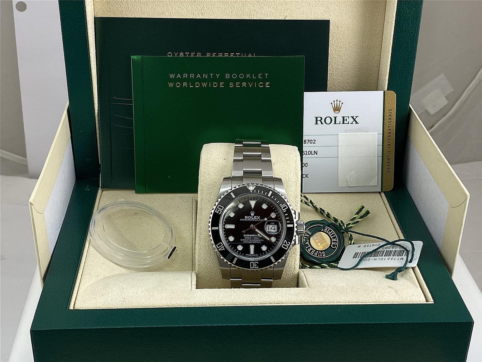 2019 Rolex Submariner Ref. 116610 Quickset Date Black