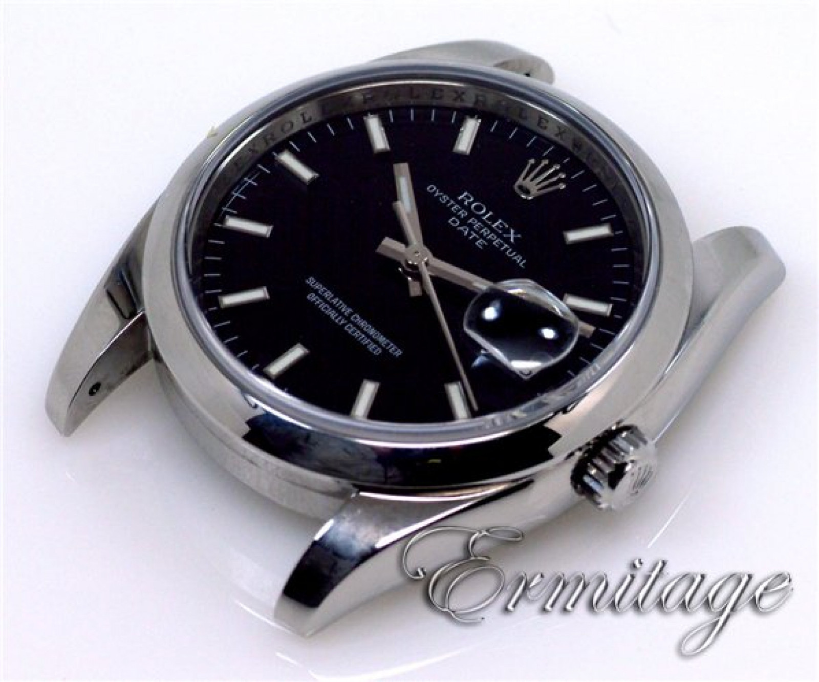 Pre-Owned Rolex Date 115200 Steel Year 2007 2007