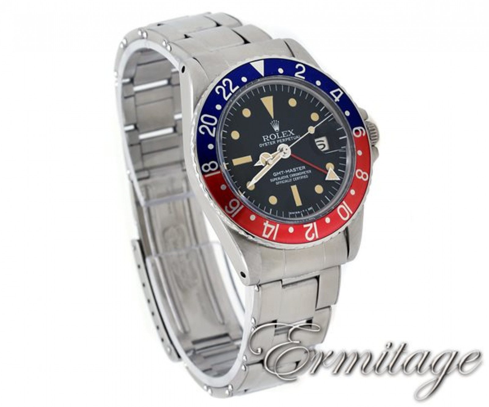Vintage Rolex GMT-Master 1675 Pepsi Blue & Red Bezel 1968
