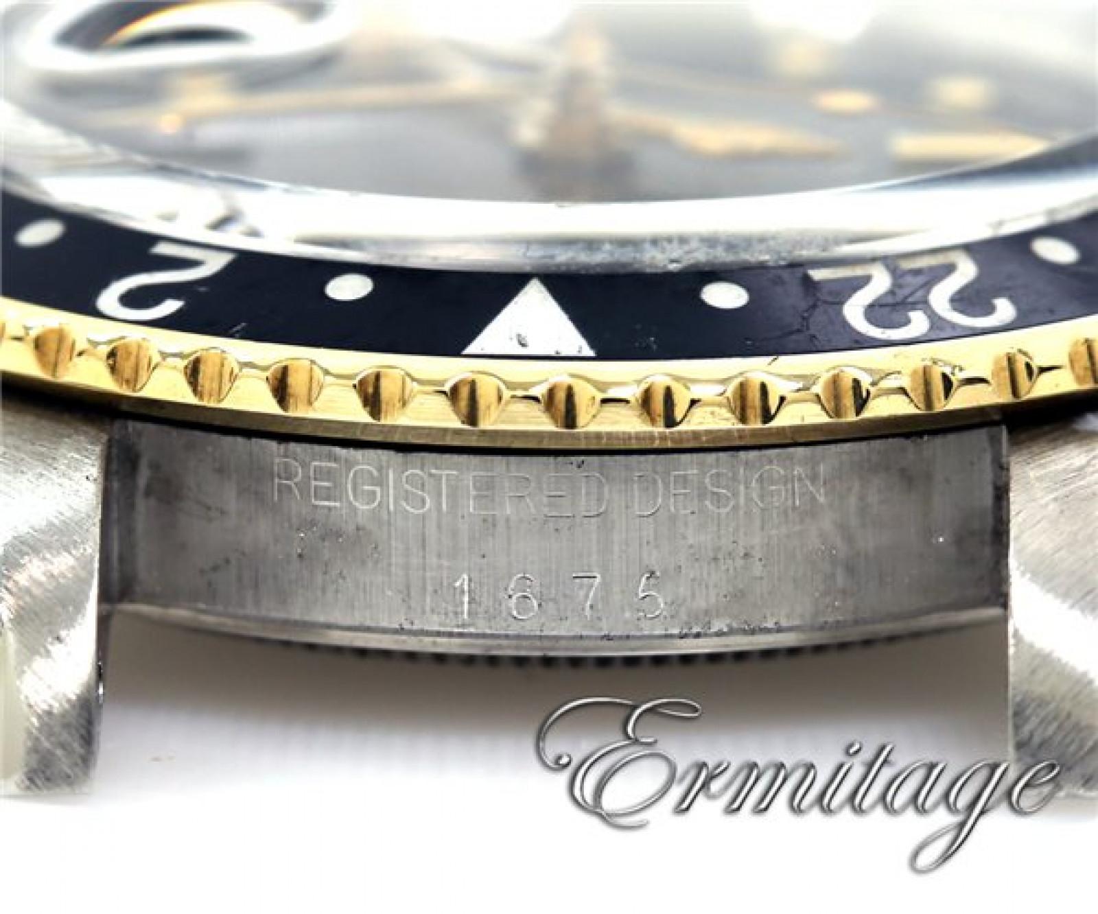 Rolex GMT-Master 1675 Gold & Steel