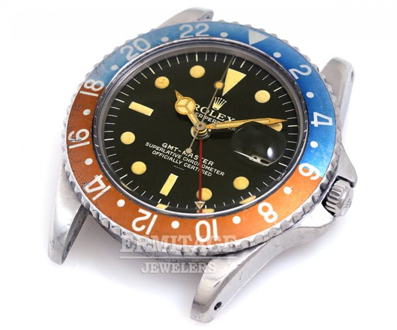 Vintage Rolex GMT-Master 1675 Steel Year 1963