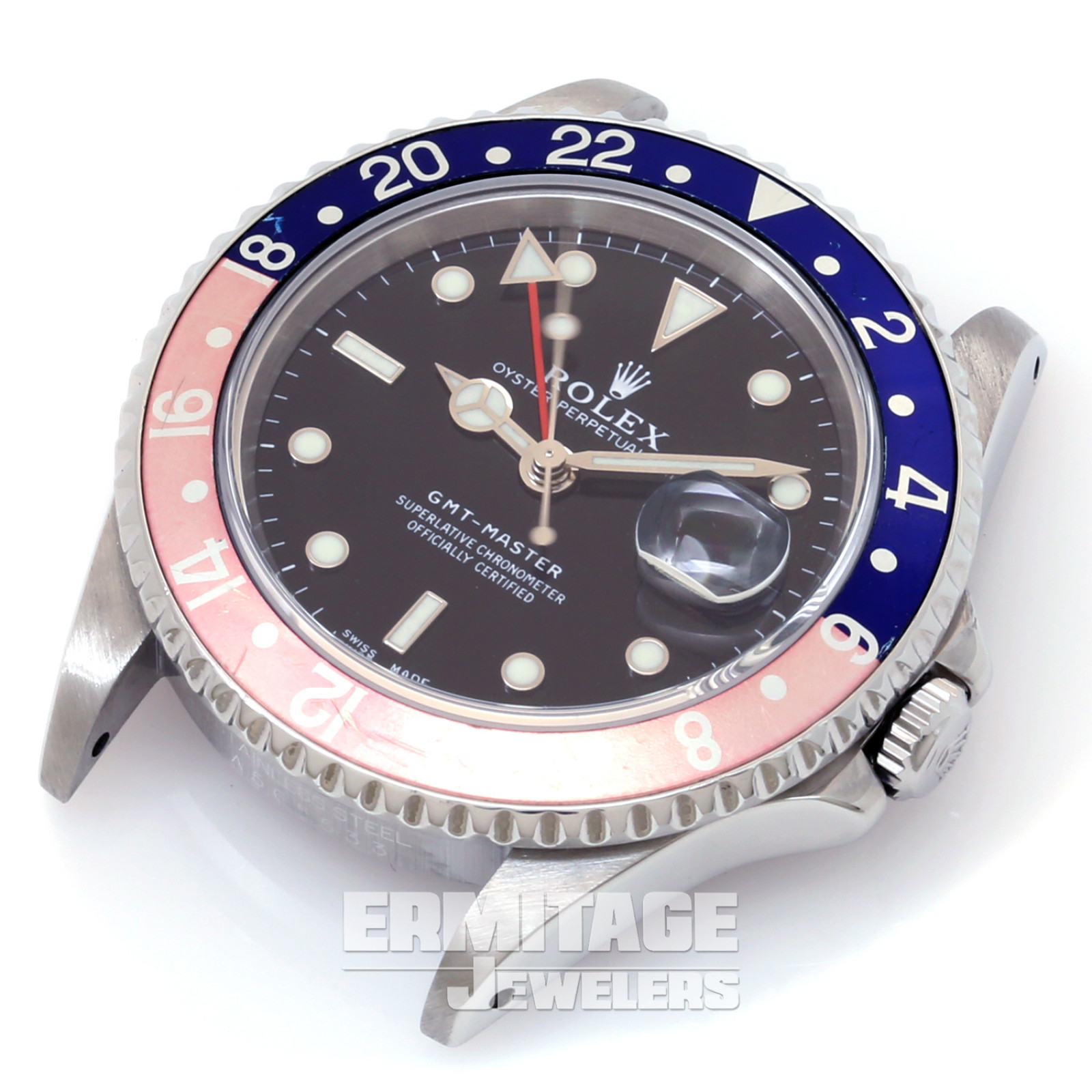 Steel on Oyster Rolex GMT-Master 16700 40 mm