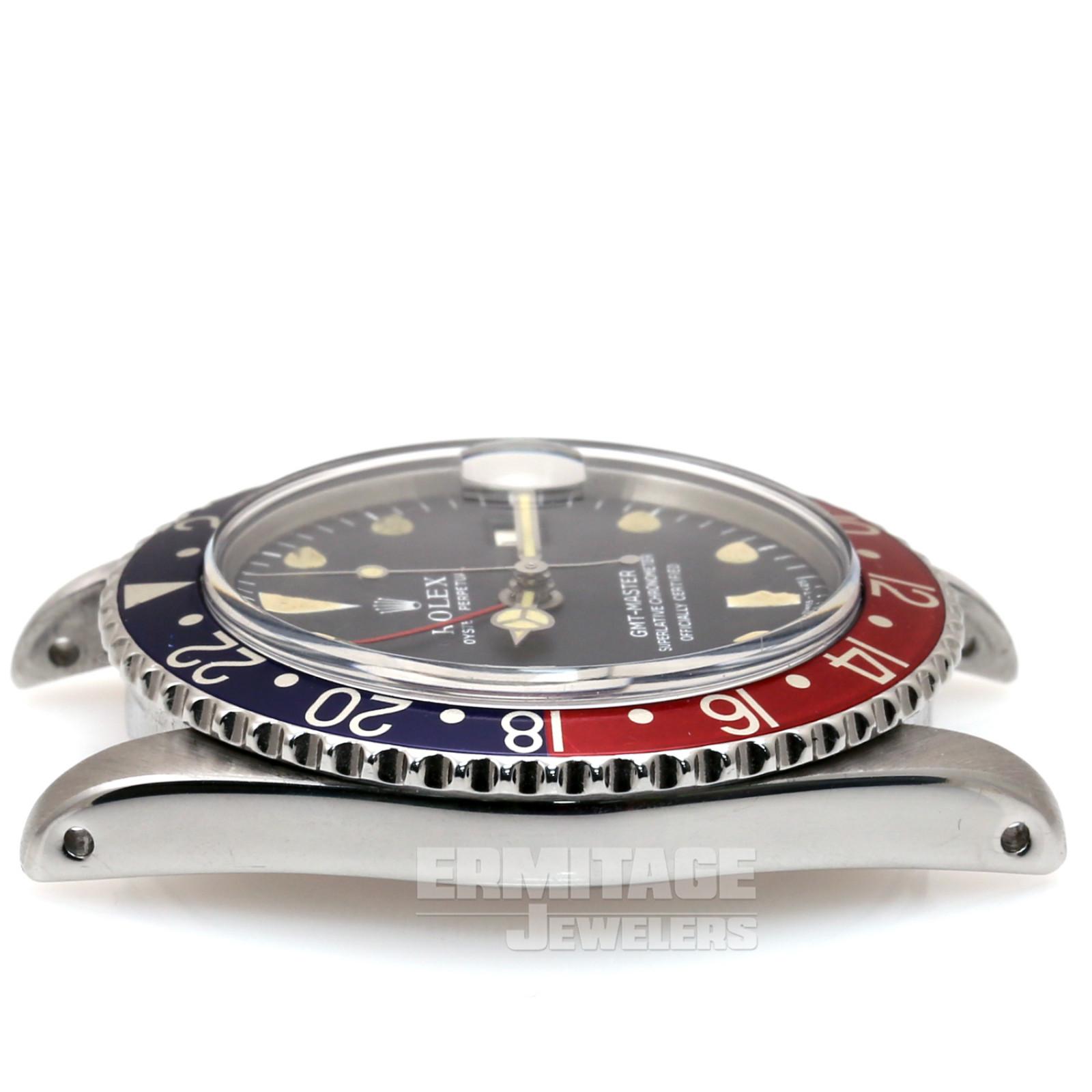Steel on Jubilee Rolex GMT-Master 1675 40 mm