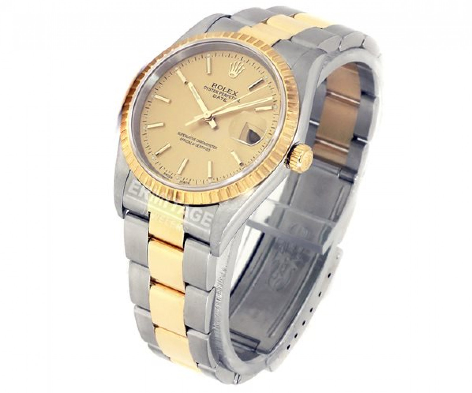 Rolex Date 15223 Gold & Steel Year 2010