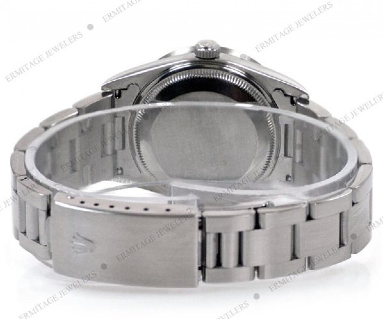 Rolex Date 15210 Steel White 1996