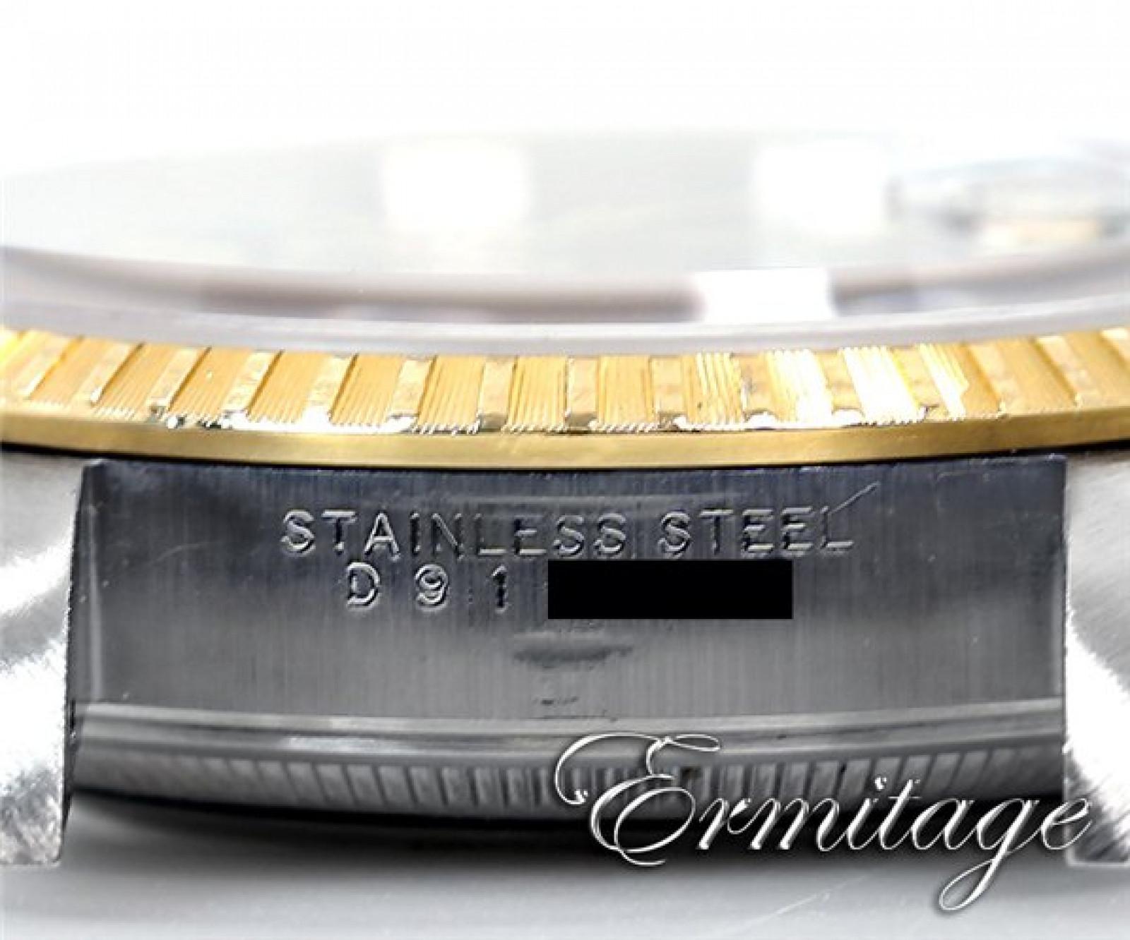 Rolex Date 15223 Gold & Steel Black 2005