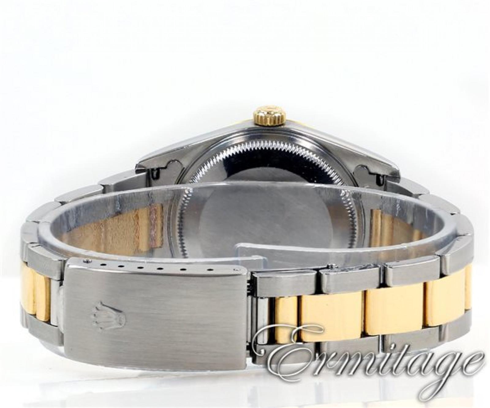 Rolex Date 15223 Gold & Steel White 2000