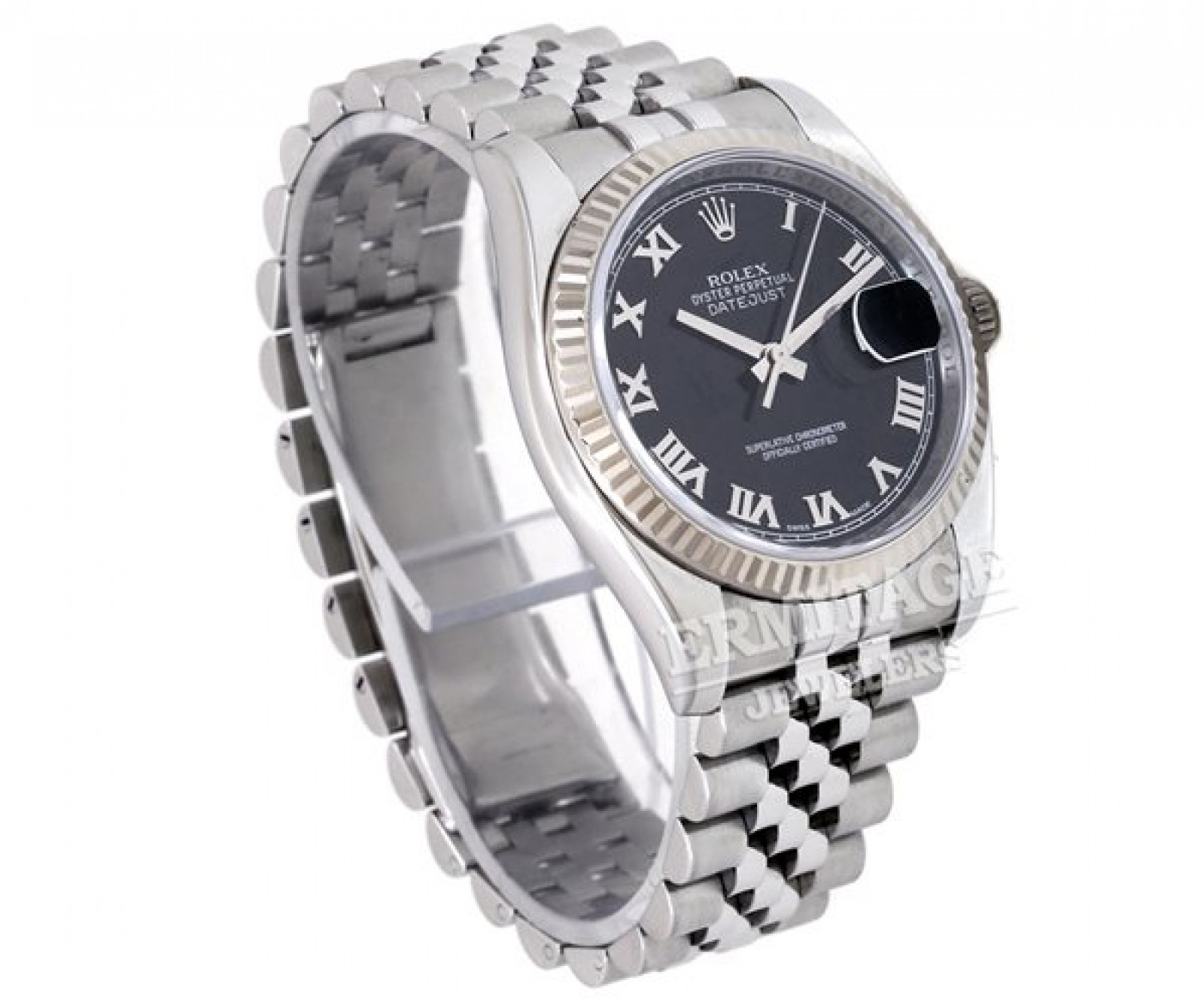 Rolex Datejust 116234 with Black Dial & Roman Markers