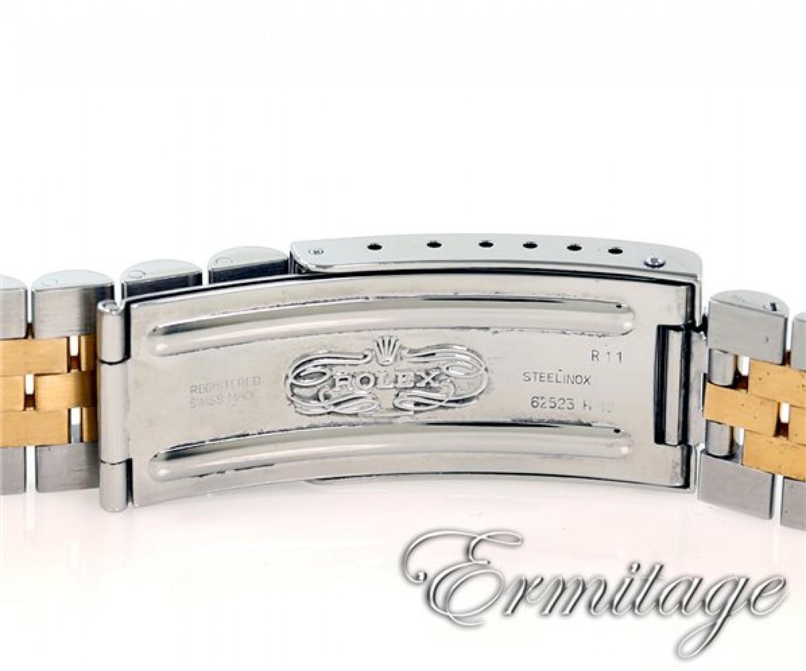 Rolex Date 15223 Gold & Steel Silver Dial 1997