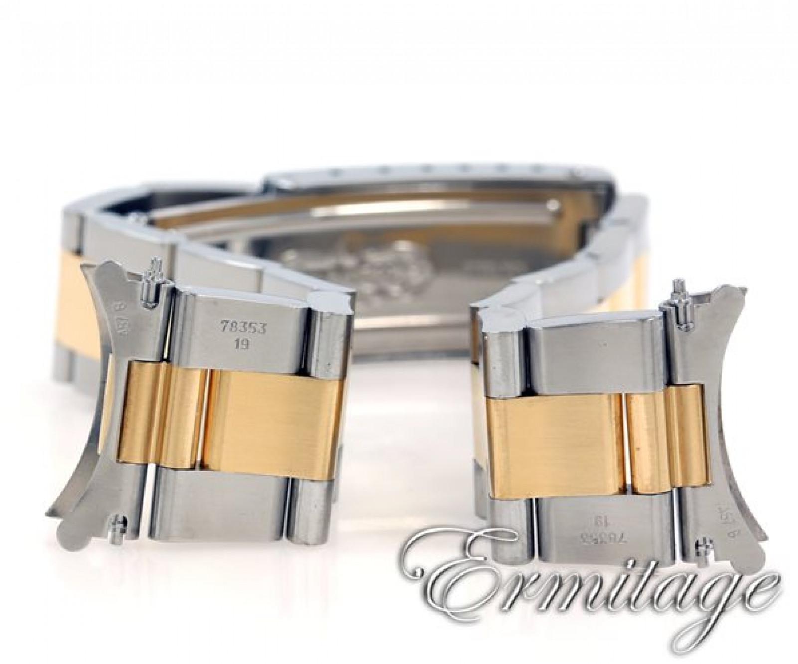 Rolex Date 15223 Gold & Steel Black 2008