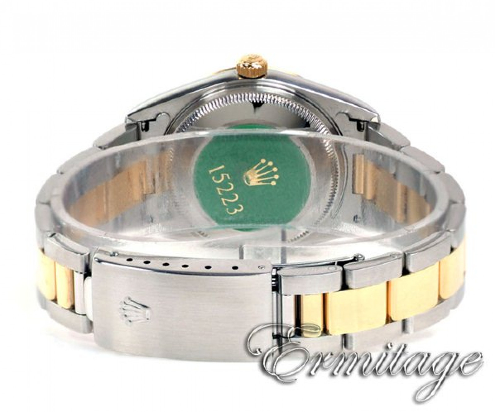 Rolex Oyster Perpetual Date 15223 Gold & Steel