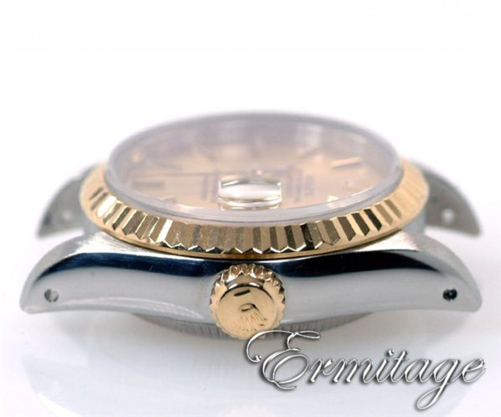 Pre-Owned Gold & Steel Rolex Datejust 69173 Year 1988