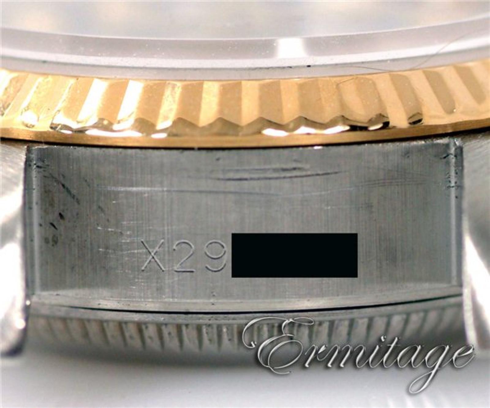 Rolex Datejust 69173 with Diamonds Gold & Steel