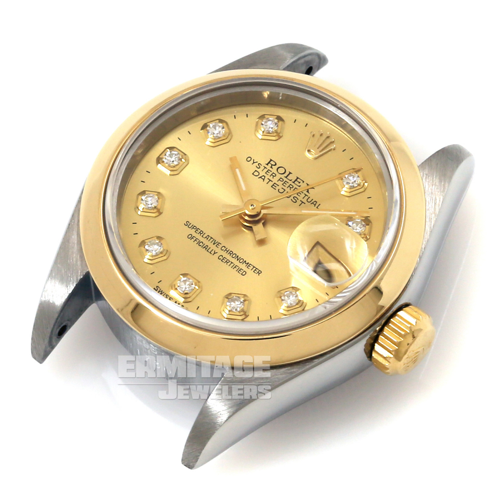 Rolex Datejust 69163 with Champagne Dial