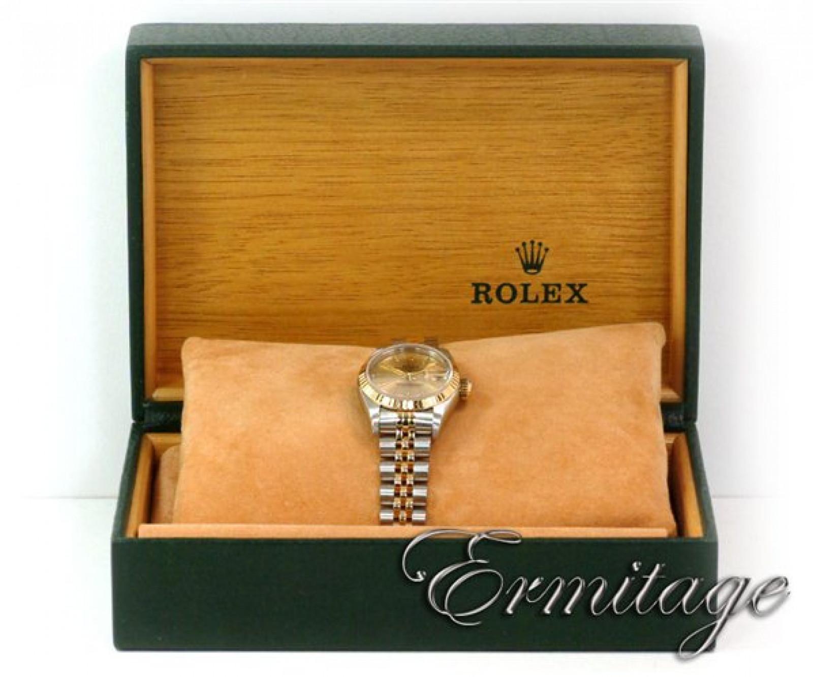 Rolex Datejust 69173 Gold & Steel 1996