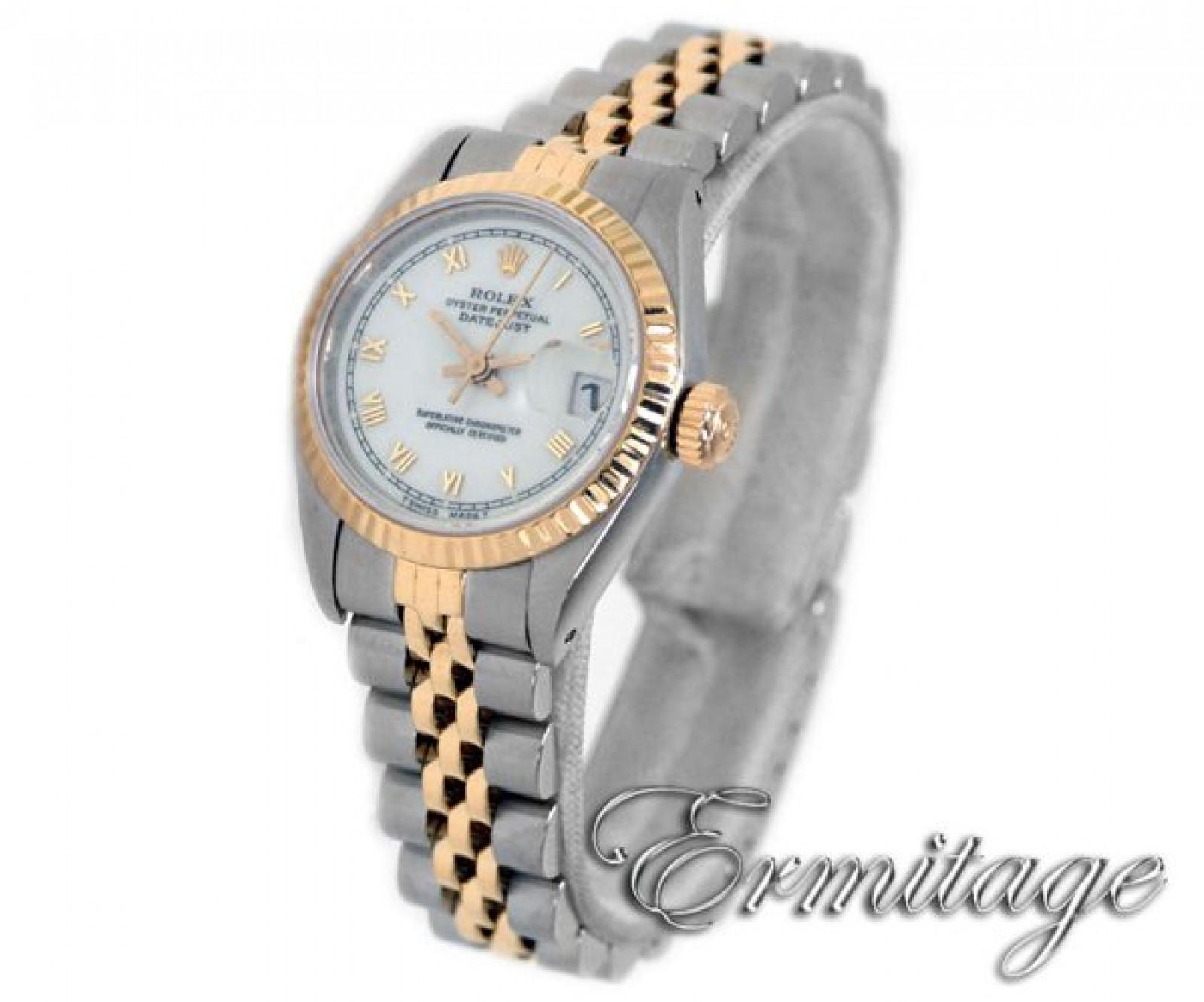 Used Rolex Datejust 69173 Gold & Steel Jubilee