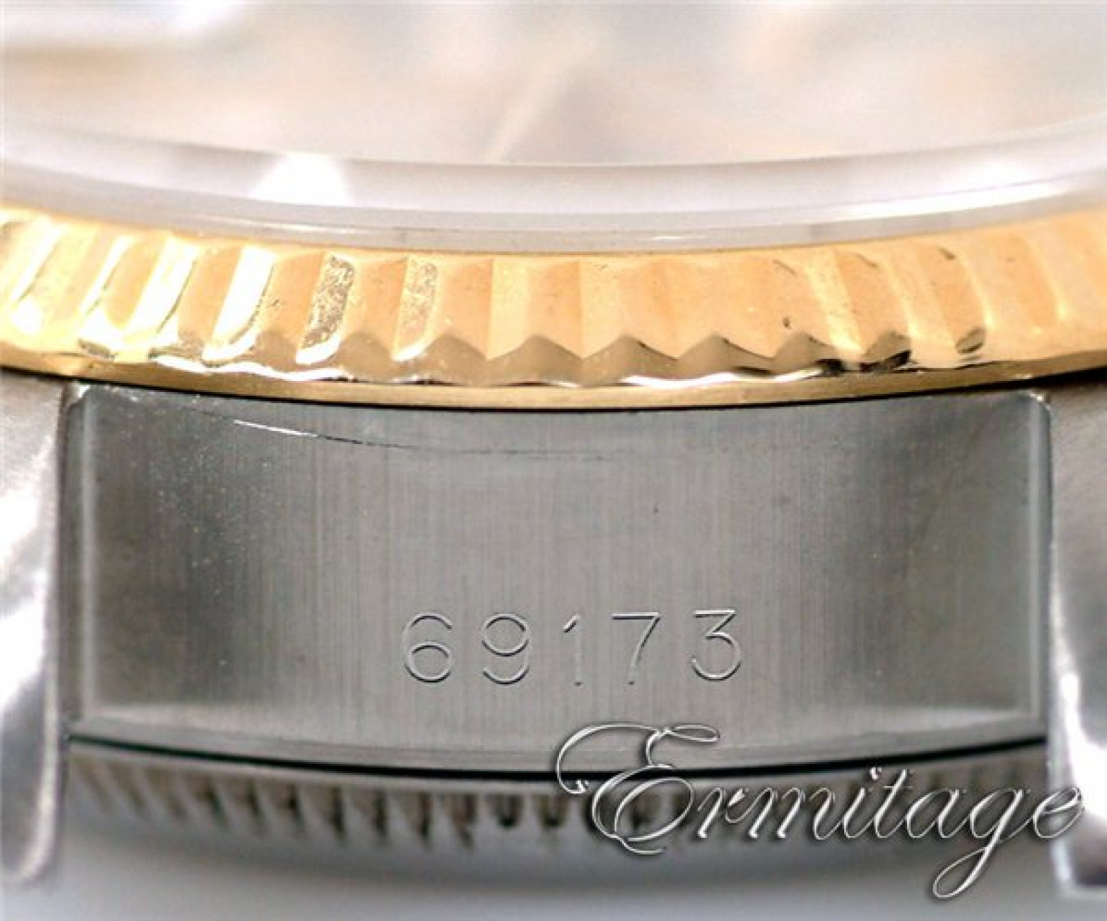 Sell Gold & Steel Rolex Datejust 69173 Year 1991
