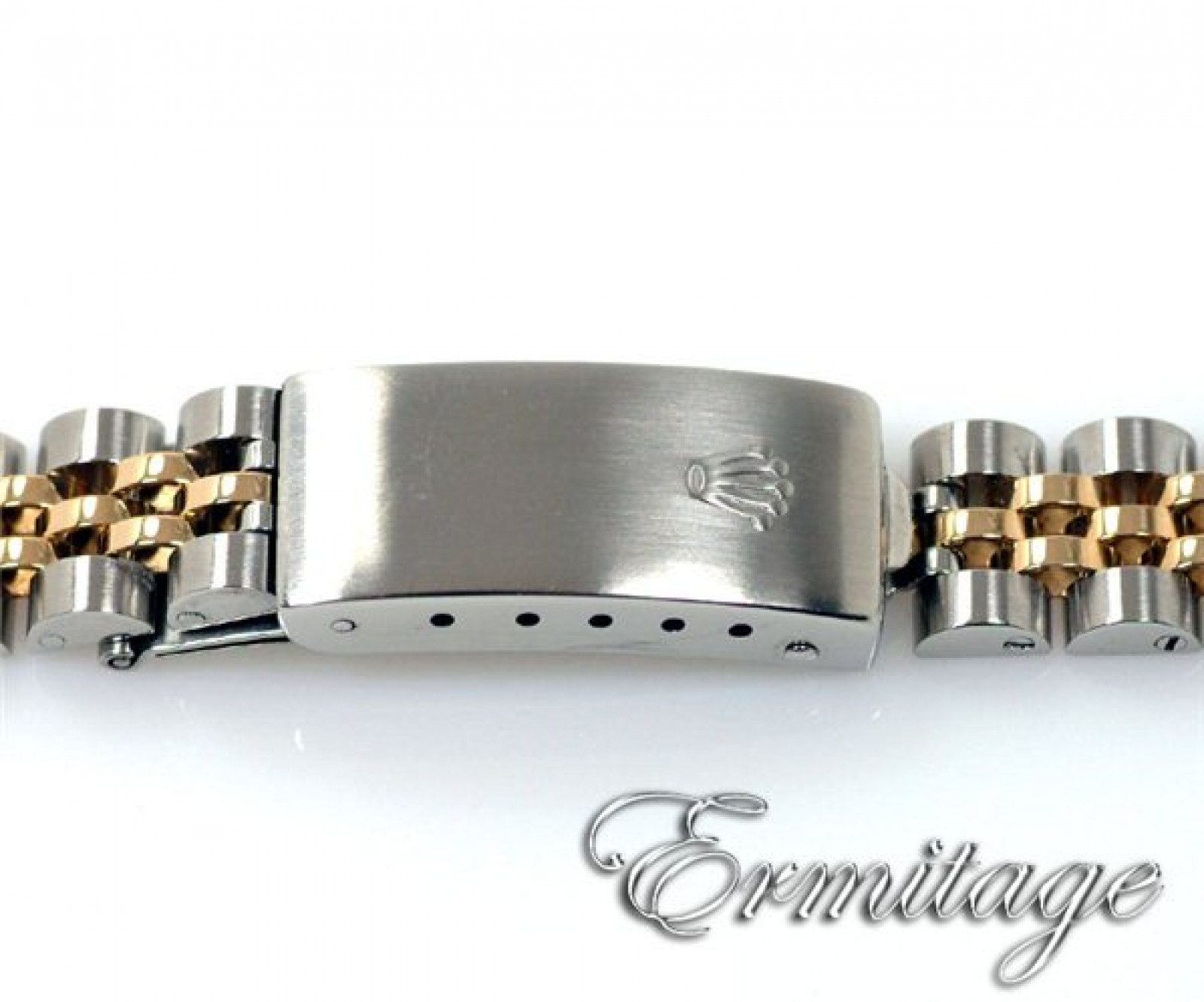 Gold & Steel Diamond Dial Rolex Datejust 69173