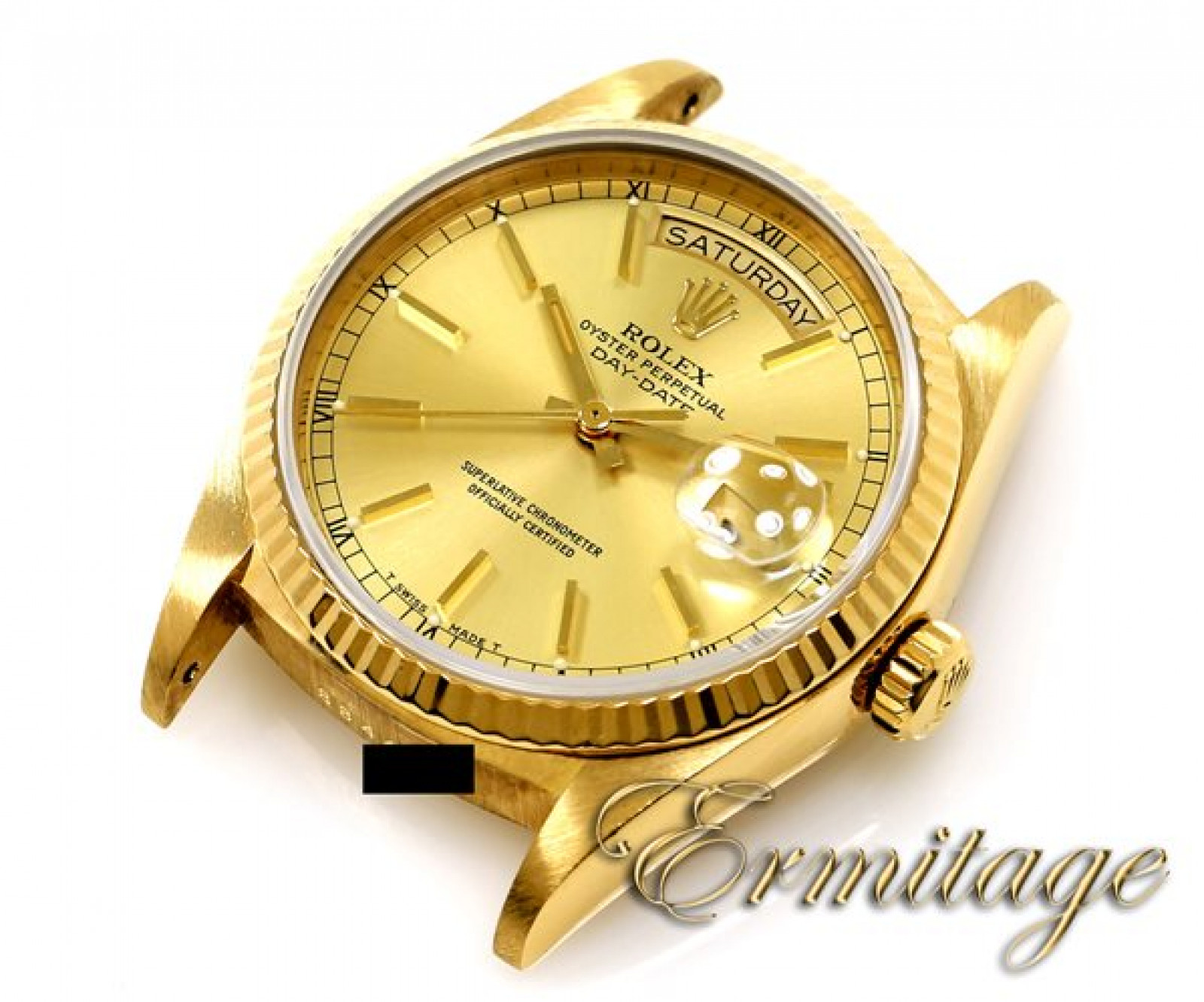 Used Rolex President Day-Date 18038 Gold Champagne