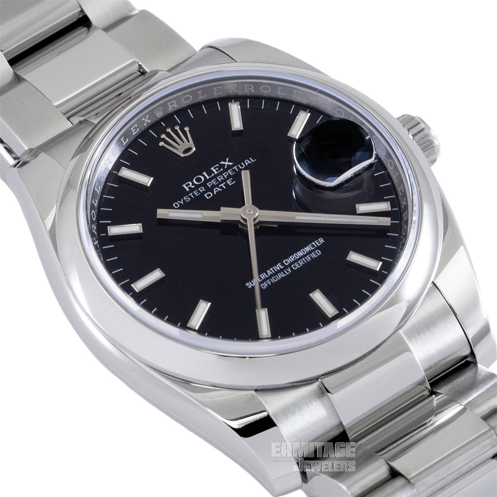 2019 Rolex Date Ref. 115200