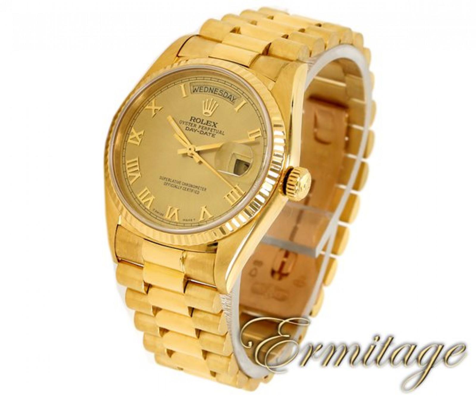 Rolex Day-Date 18038 Gold Champagne