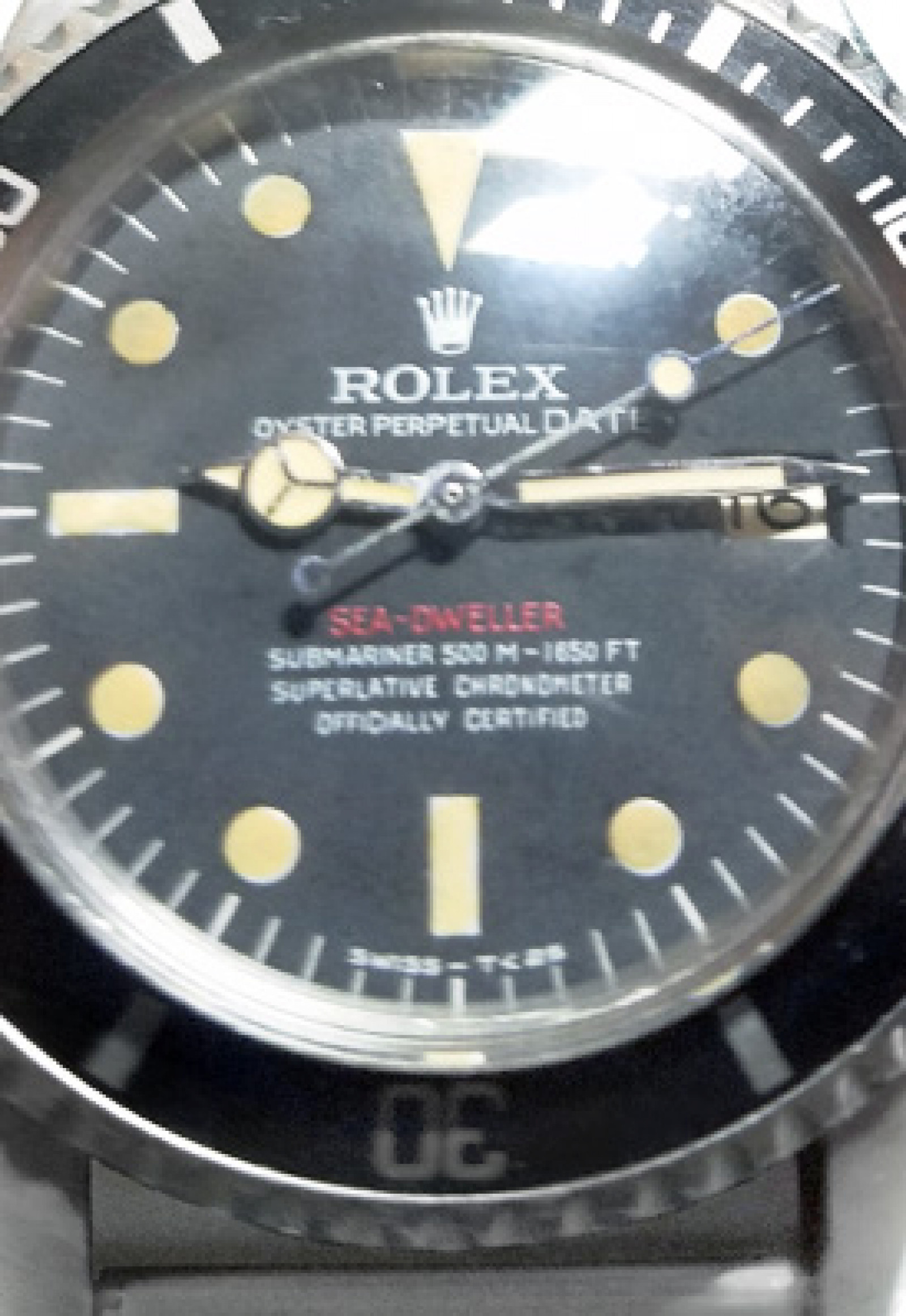 Vintage Rolex 1665 40 mm Steel on Oyster
