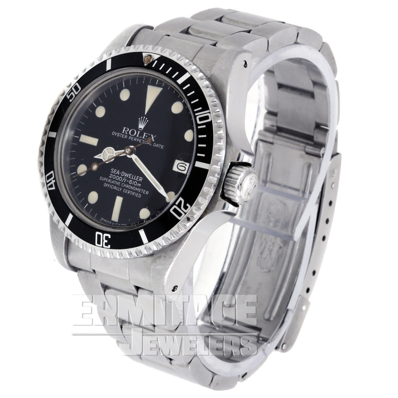 Double Red Mark IV Rolex Sea Dweller 1665 Luminous