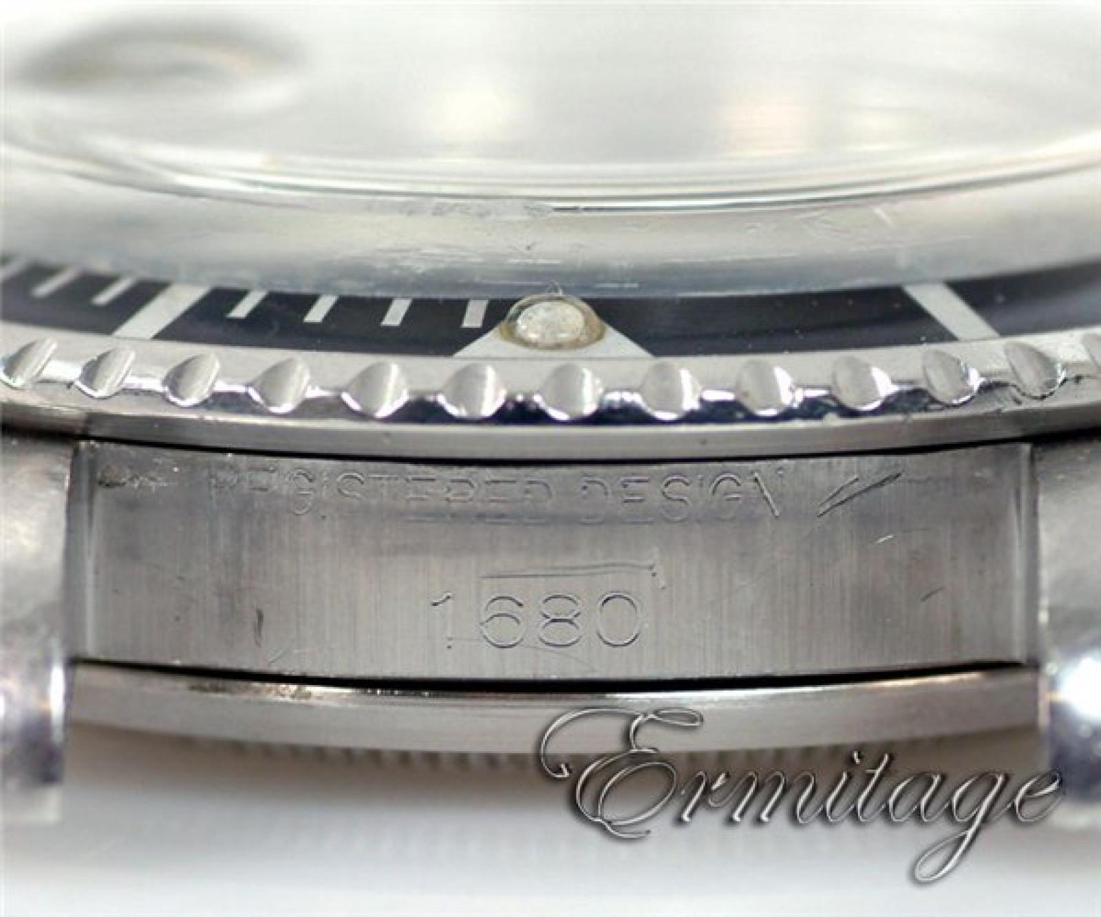 Rare Vintage Rolex Submariner 1680 Steel Mark I