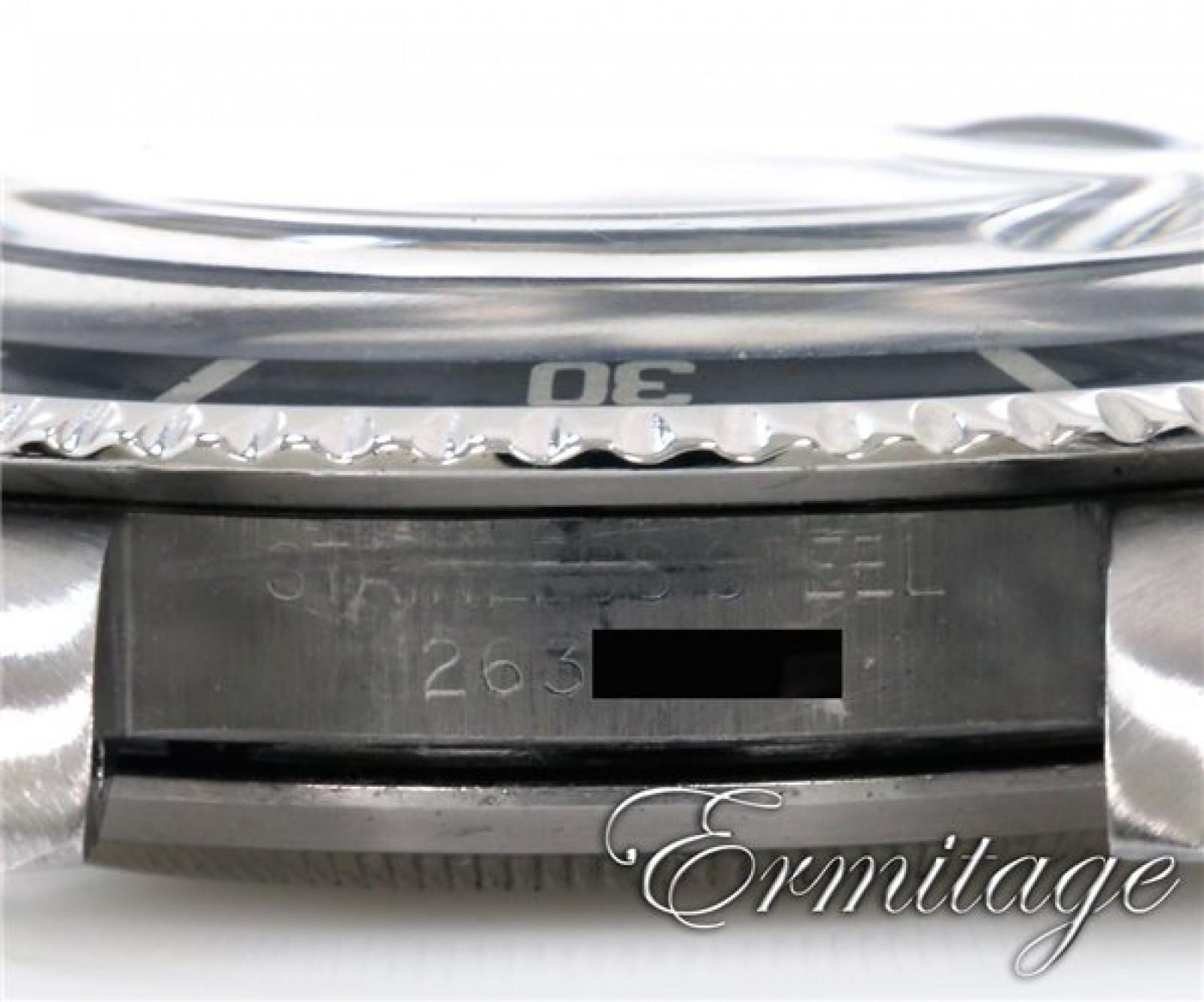 Vintage Rolex Submariner 1680 Steel 1970 with Black Dial