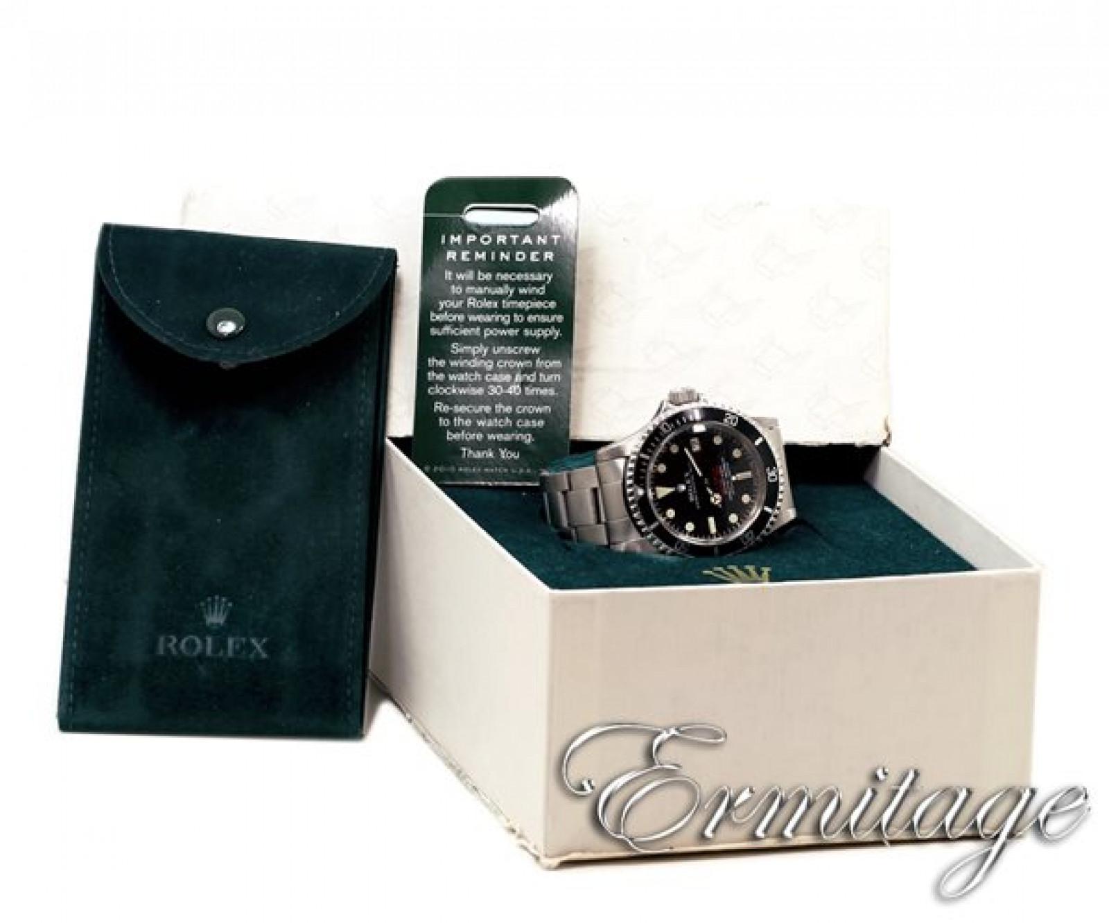 Pre-Owned Rolex Sea-Dweller 1665 Steel