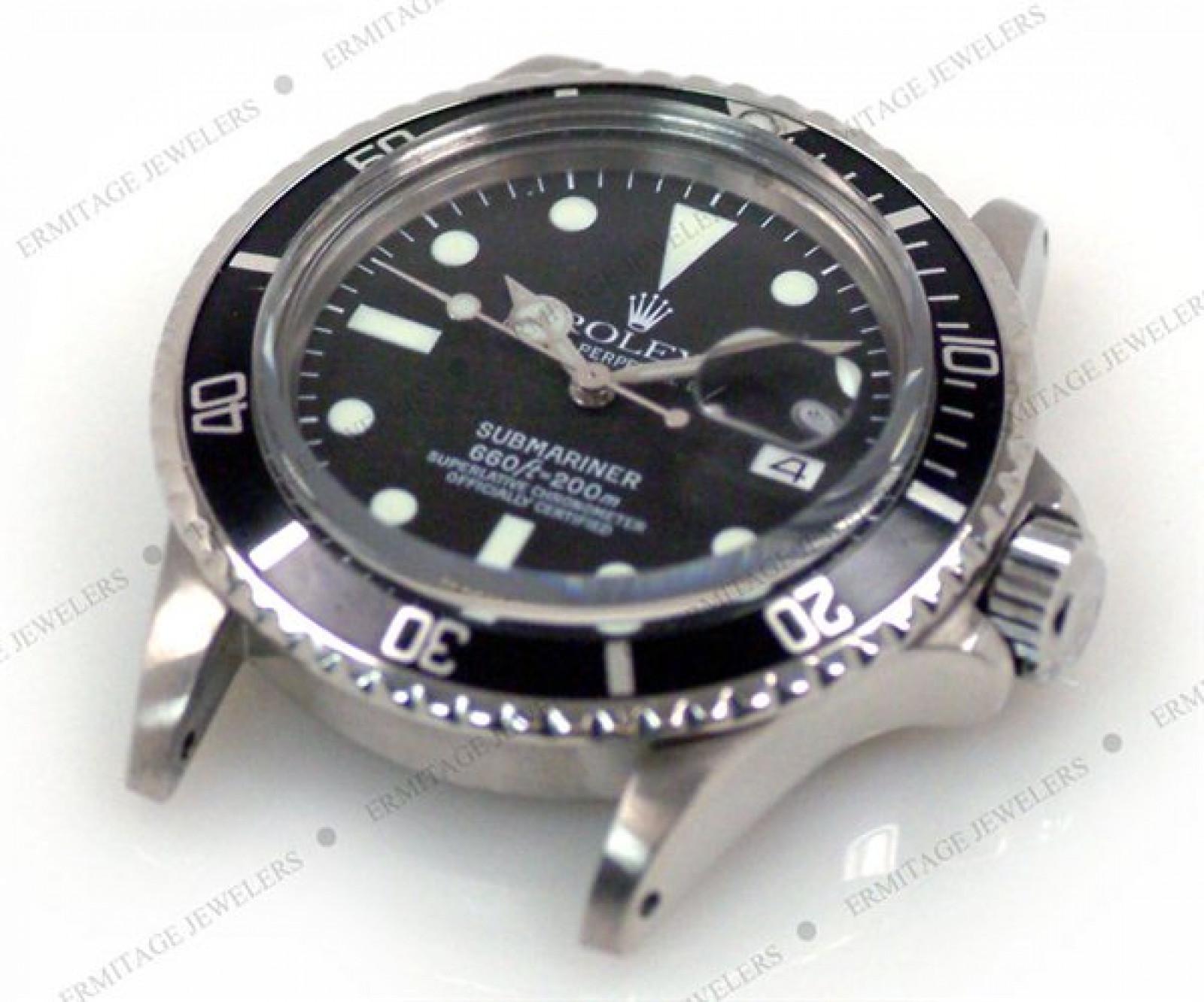 Vintage Rolex Submariner 1680 Steel with Black Dial 1970